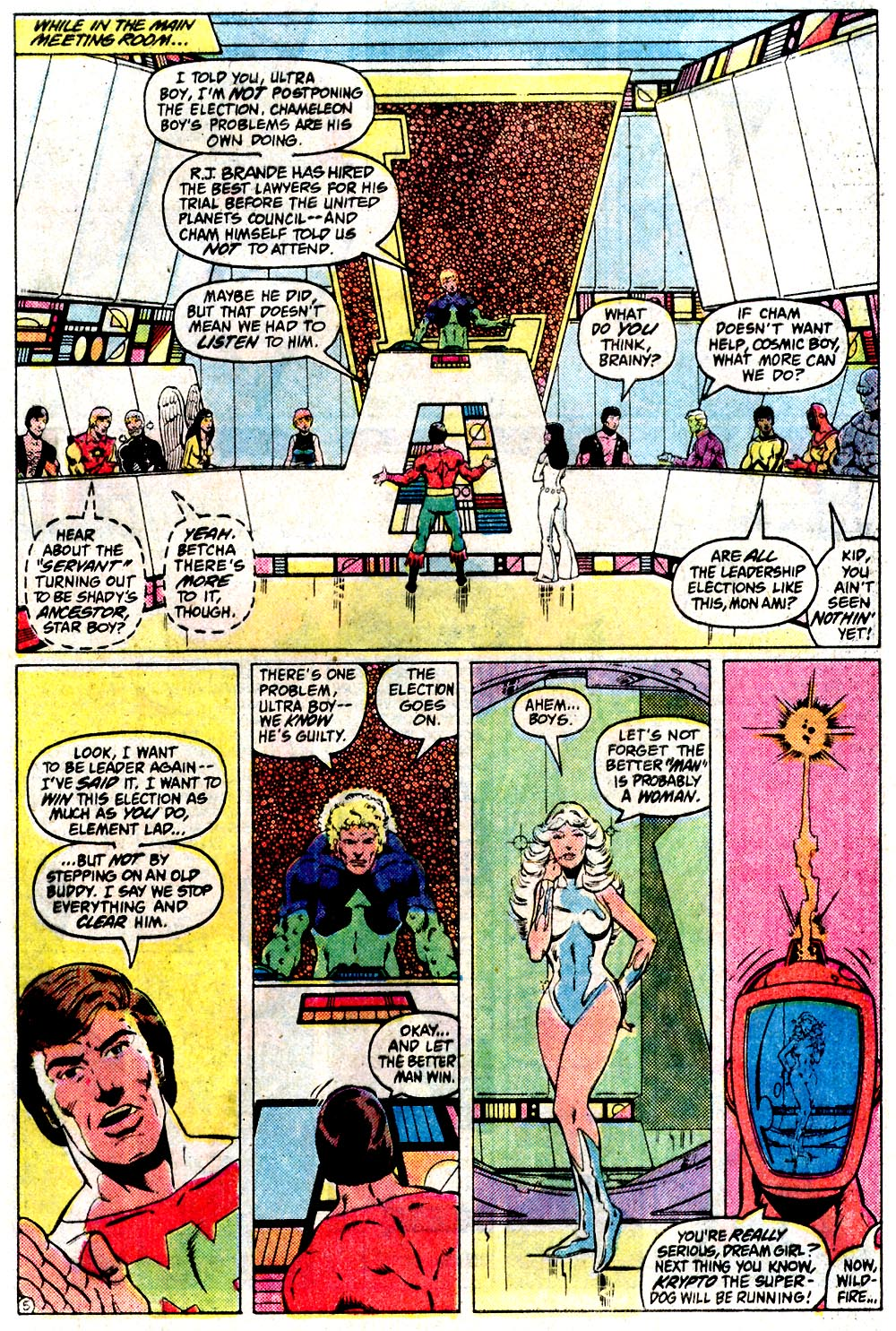 Legion of Super-Heroes (1980) 291 Page 5