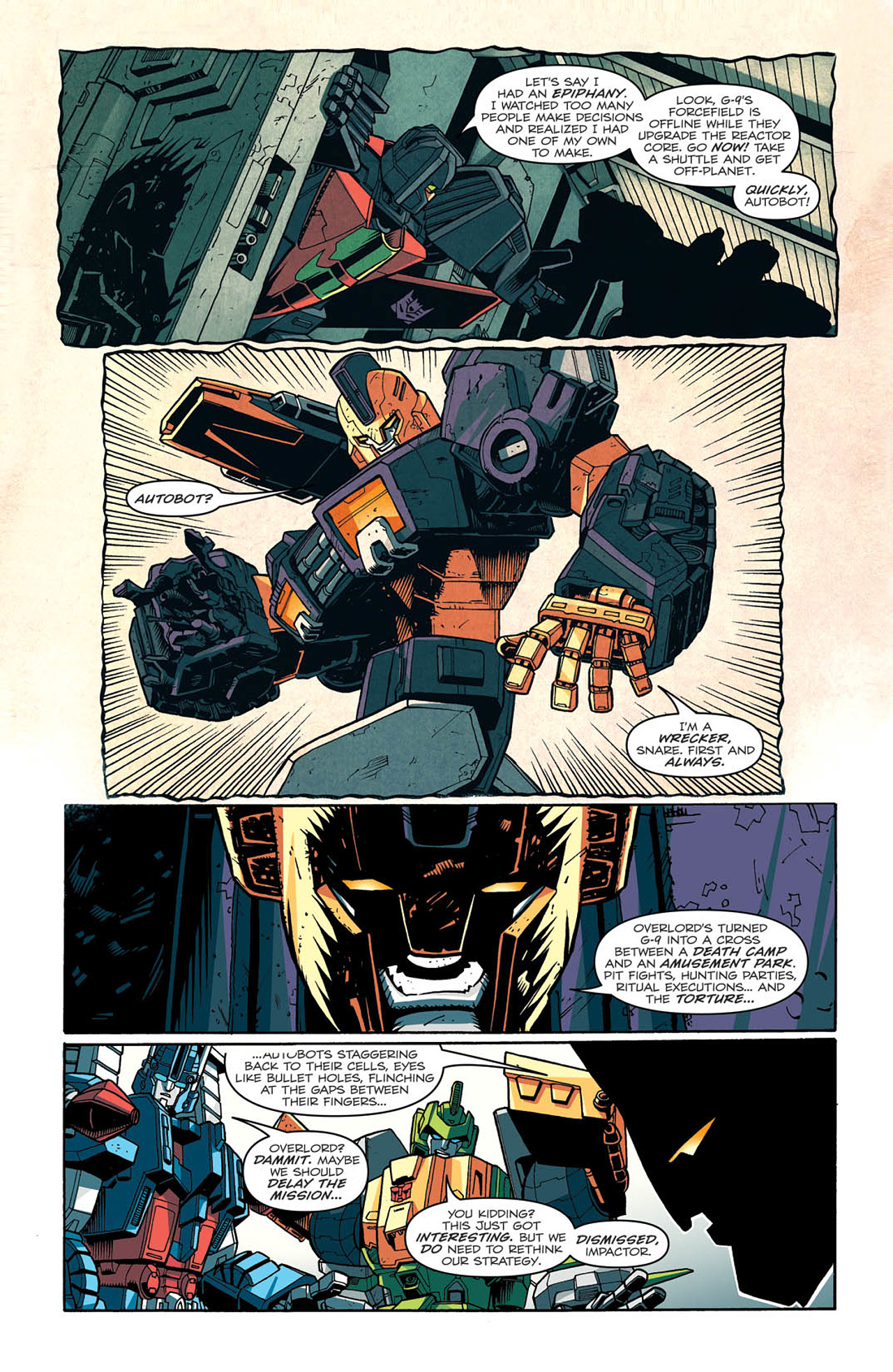 Read online Transformers: Last Stand of The Wreckers comic -  Issue #2 - 11