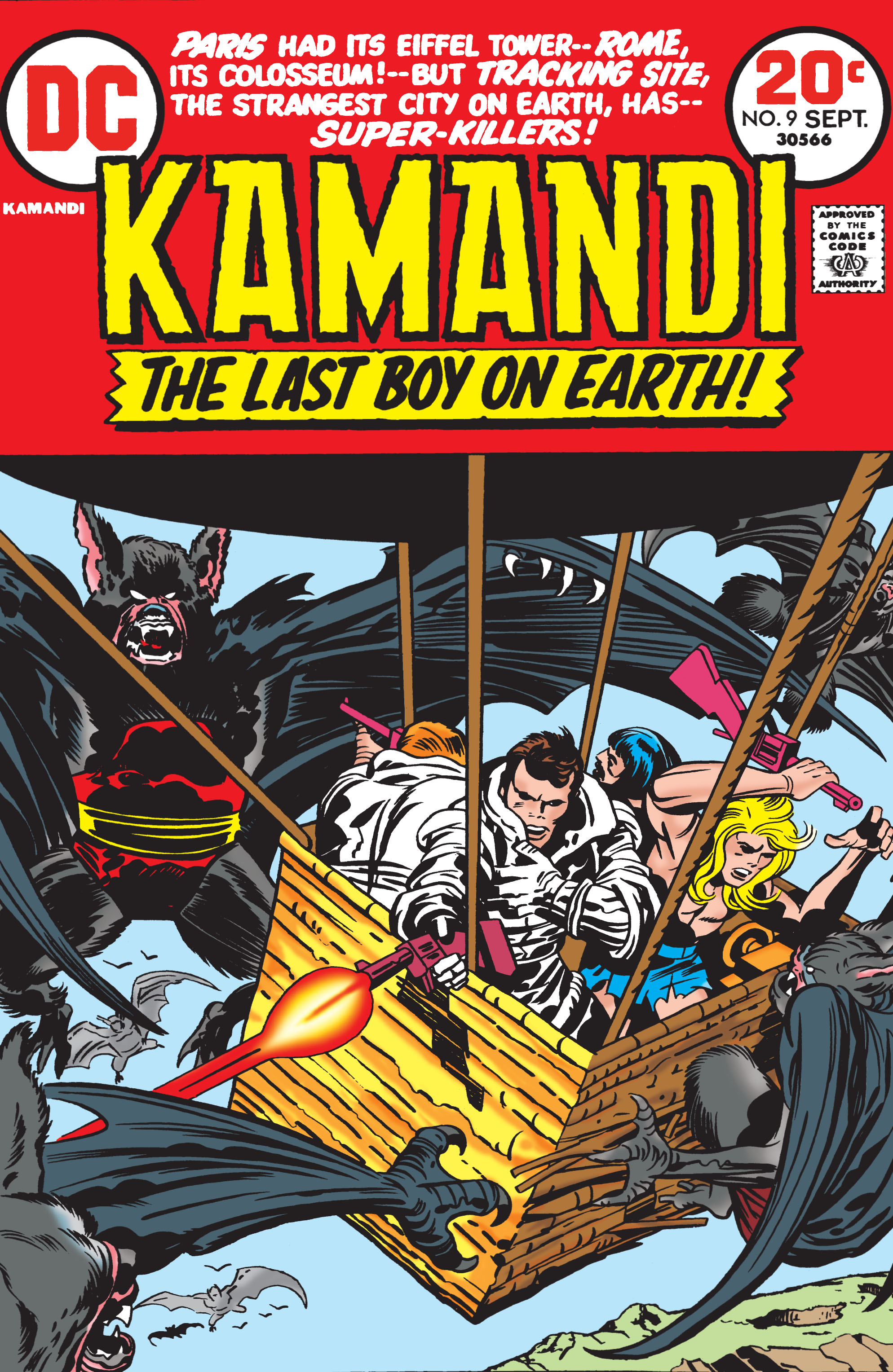 Kamandi, The Last Boy On Earth 9 Page 1