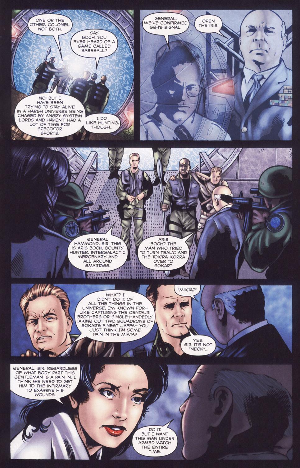 Read online Stargate SG-1: Aris Boch comic -  Issue # Full - 7