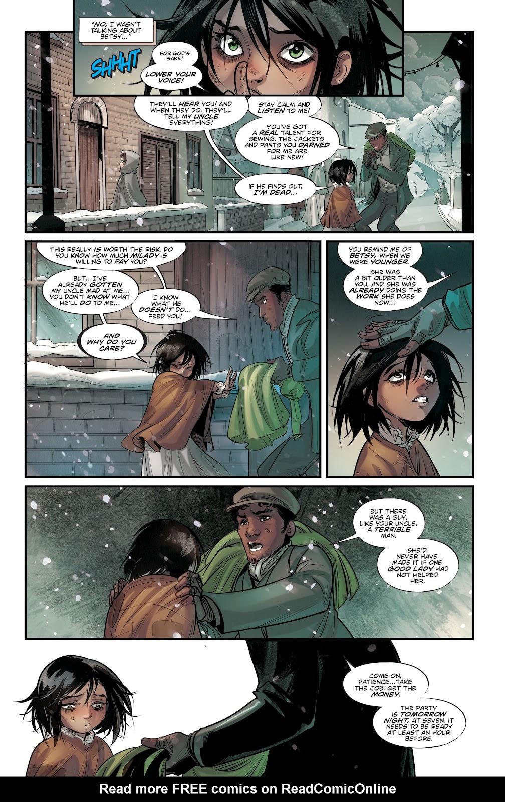 Read online Mirka Andolfo's Mercy comic -  Issue #2 - 12