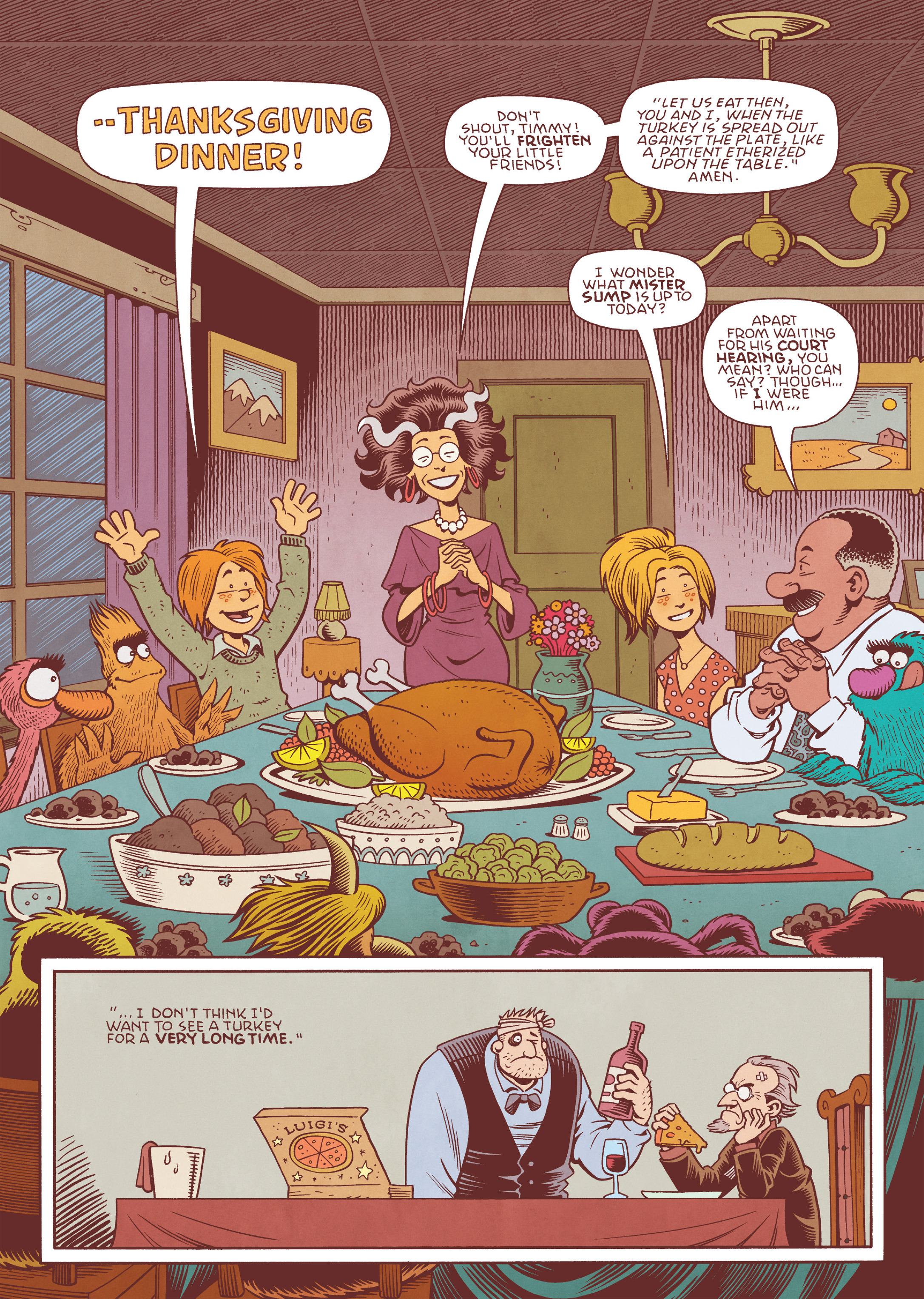 Read online Jim Henson's The Musical Monsters of Turkey Hollow comic -  Issue # Full - 77