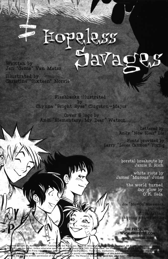 Read online Hopeless Savages comic -  Issue #4 - 2