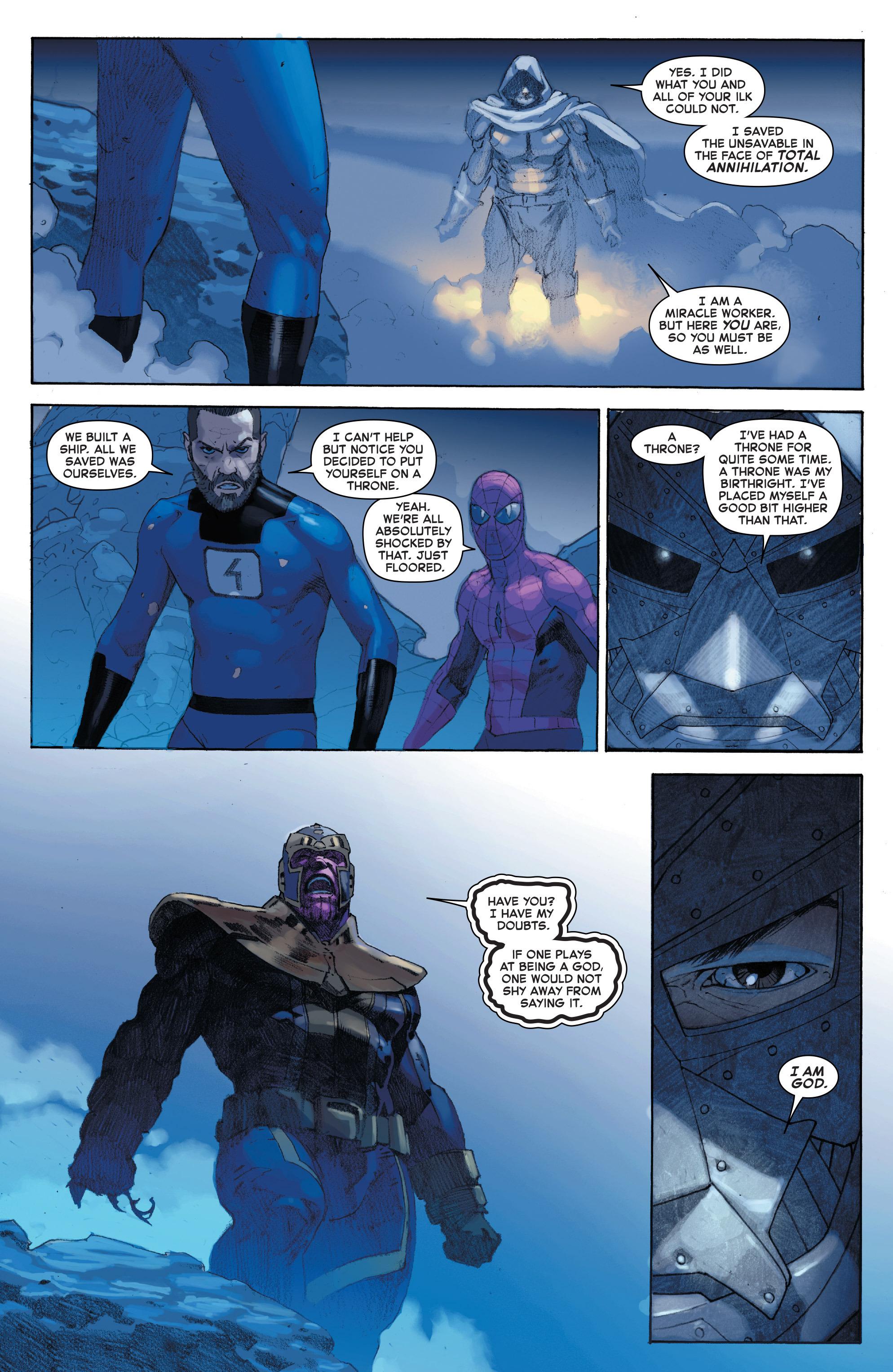 Read online Secret Wars comic -  Issue #4 - 26