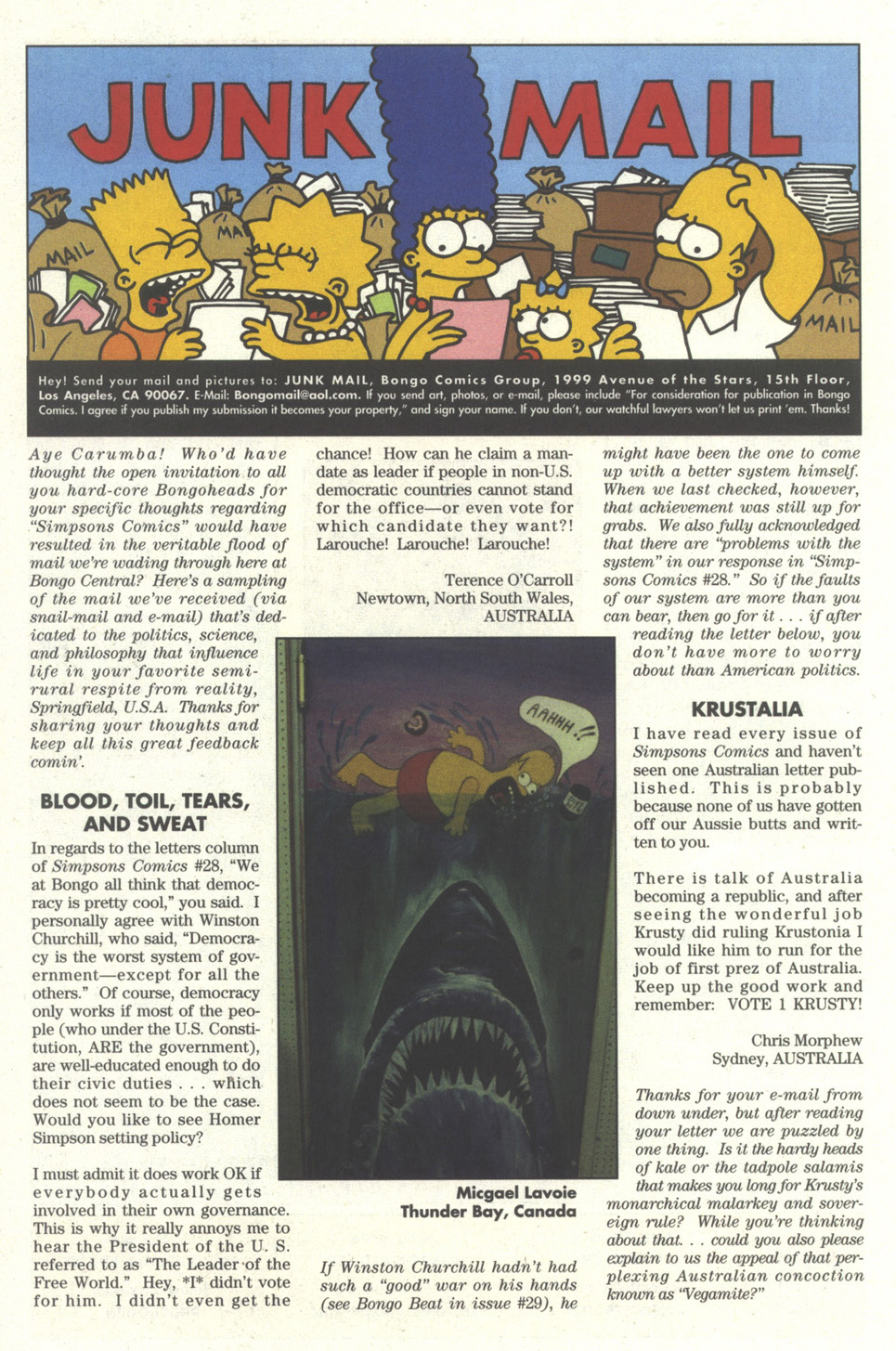 Read online Simpsons Comics comic -  Issue #30 - 24