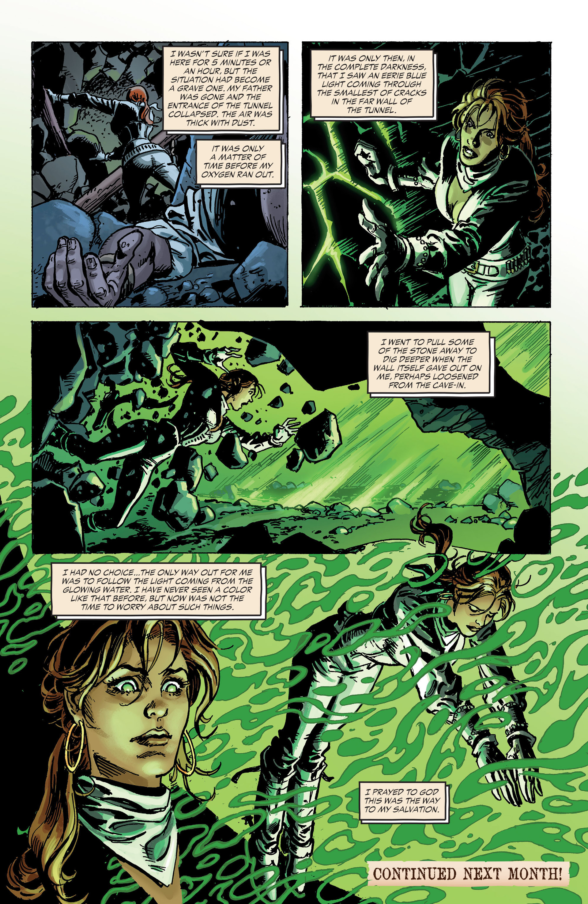 Read online All-Star Western (2011) comic -  Issue #30 - 23