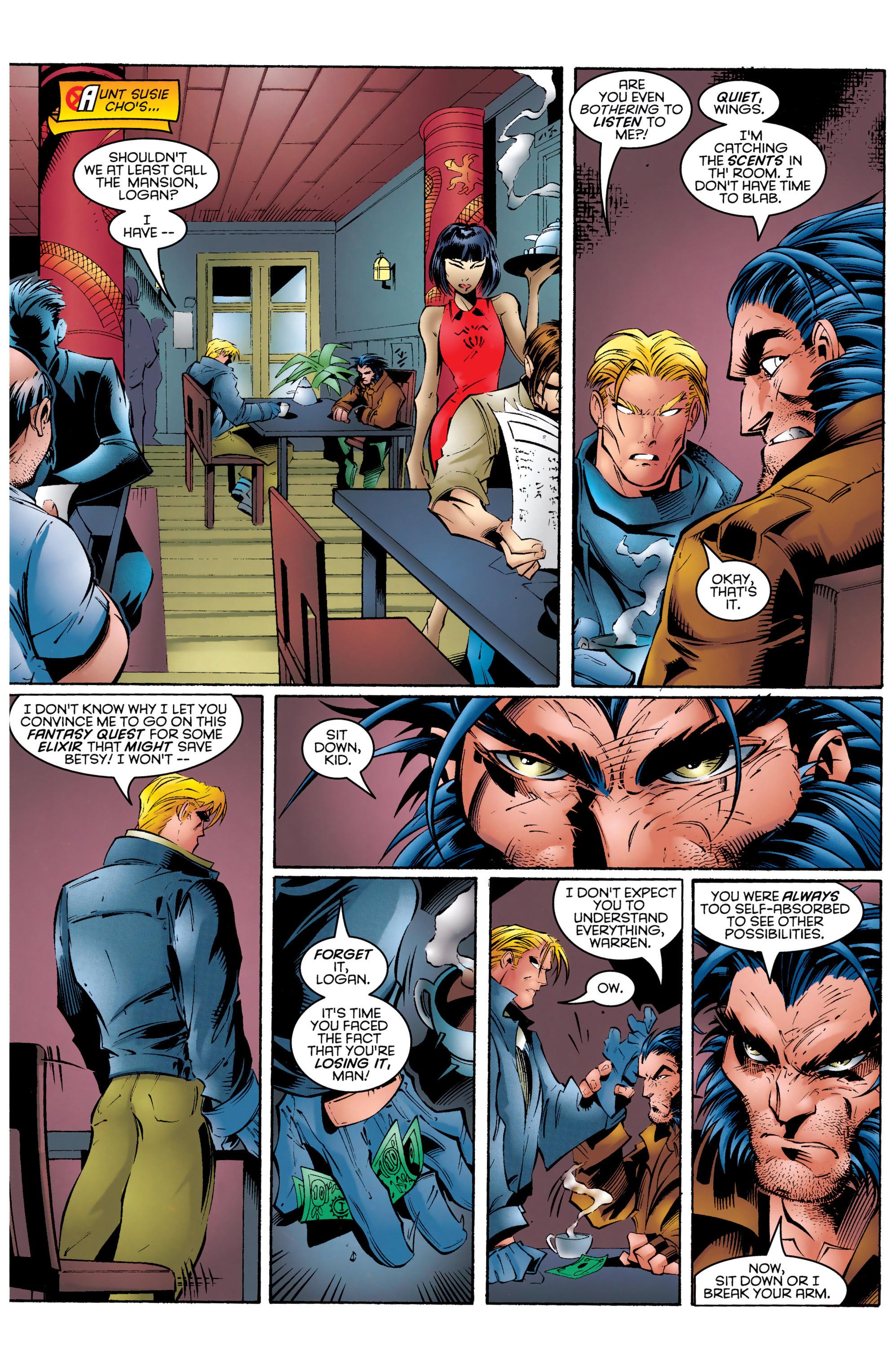 Read online Uncanny X-Men (1963) comic -  Issue #329 - 8