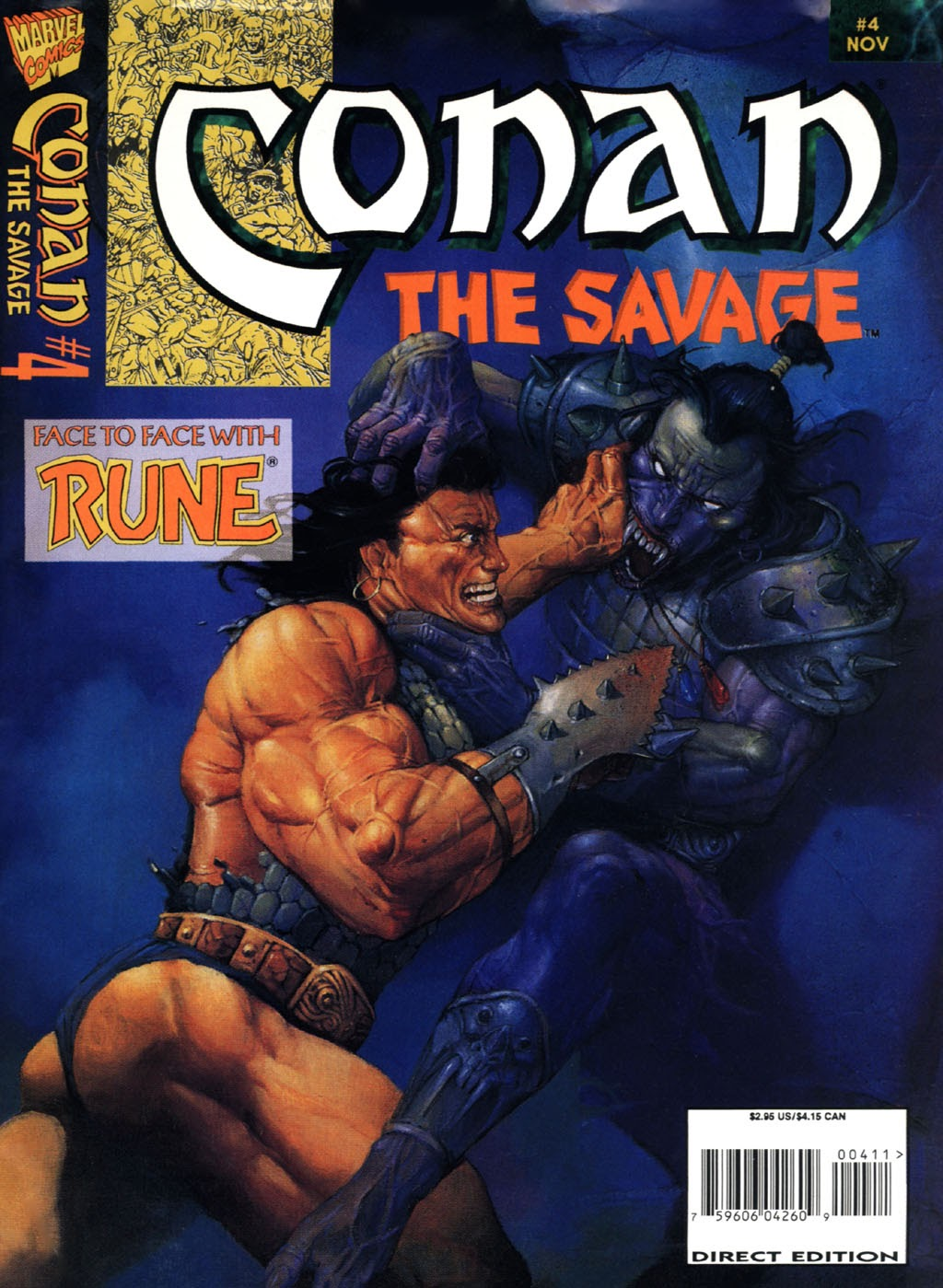Conan the Savage 4 Page 1