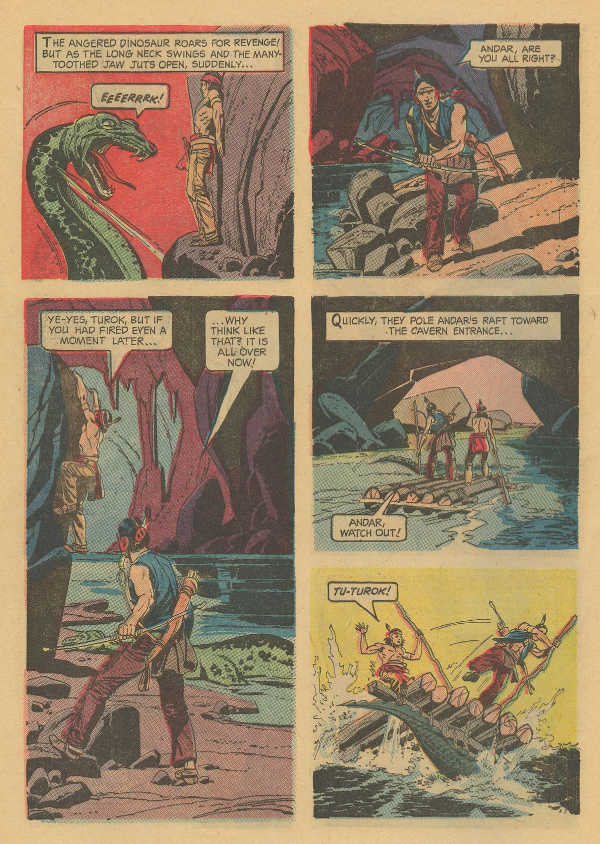 Read online Turok, Son of Stone comic -  Issue #31 - 32
