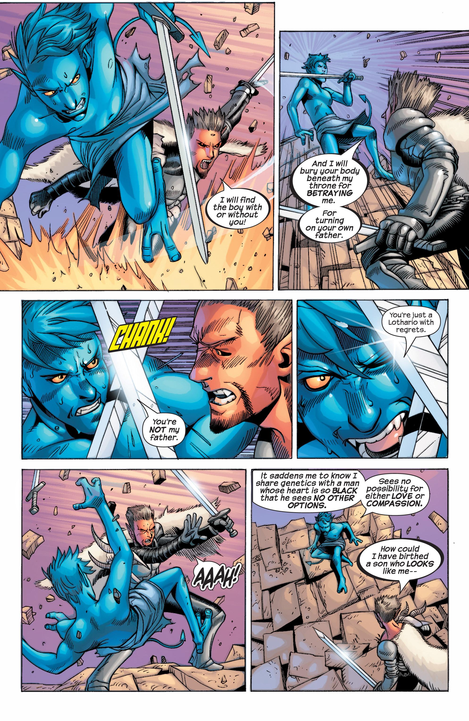 Read online Uncanny X-Men (1963) comic -  Issue #434 - 23