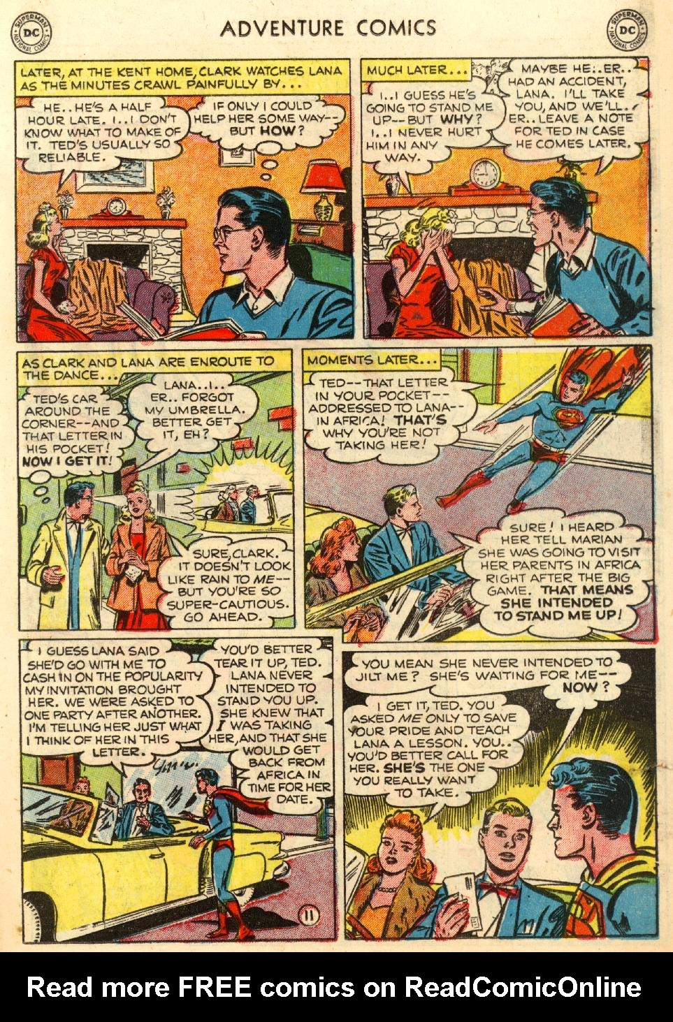 Read online Adventure Comics (1938) comic -  Issue #170 - 13