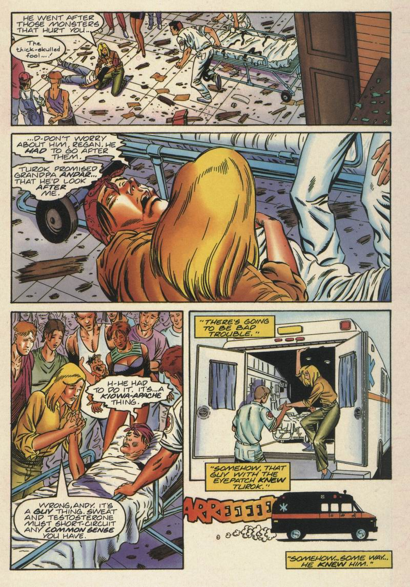 Read online Turok, Dinosaur Hunter (1993) comic -  Issue #15 - 4