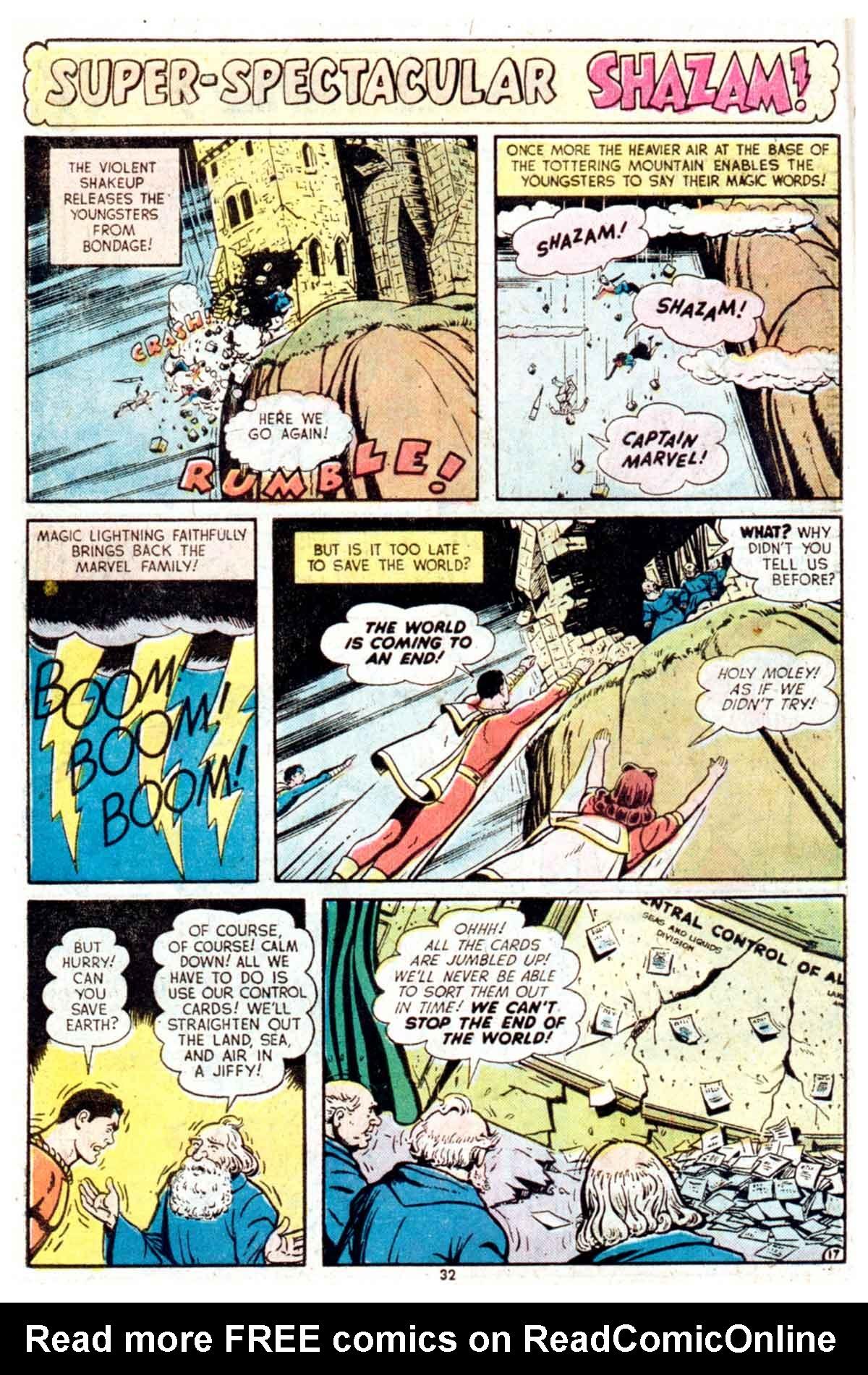Read online Shazam! (1973) comic -  Issue #16 - 32