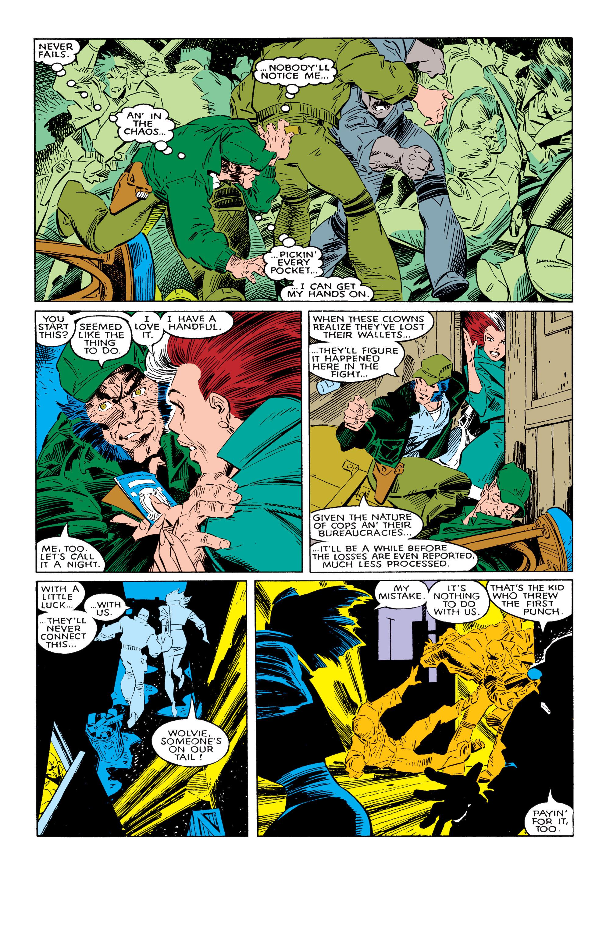 Read online Uncanny X-Men (1963) comic -  Issue #237 - 10