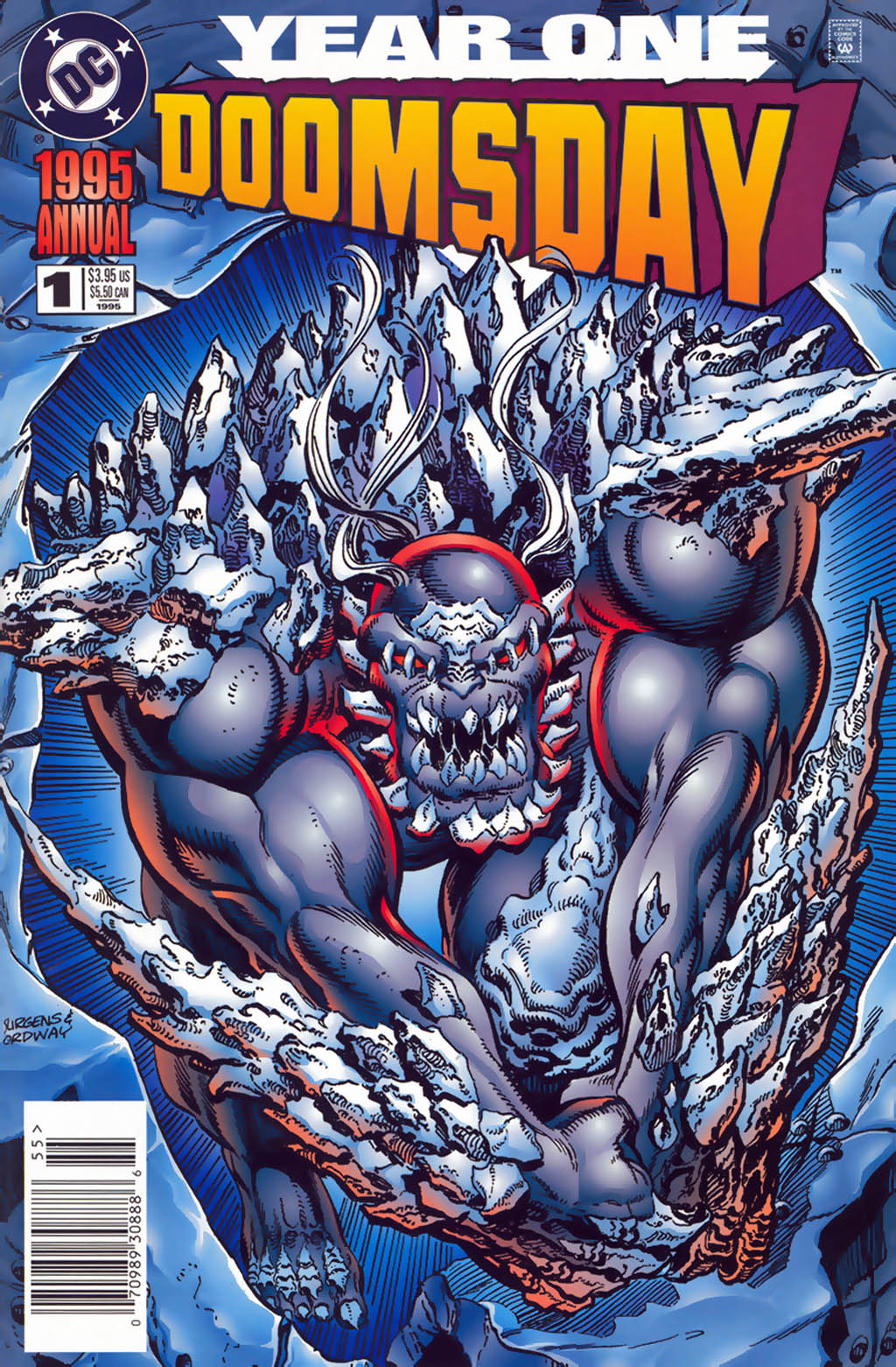 Read online Doomsday Annual comic -  Issue # Full - 1