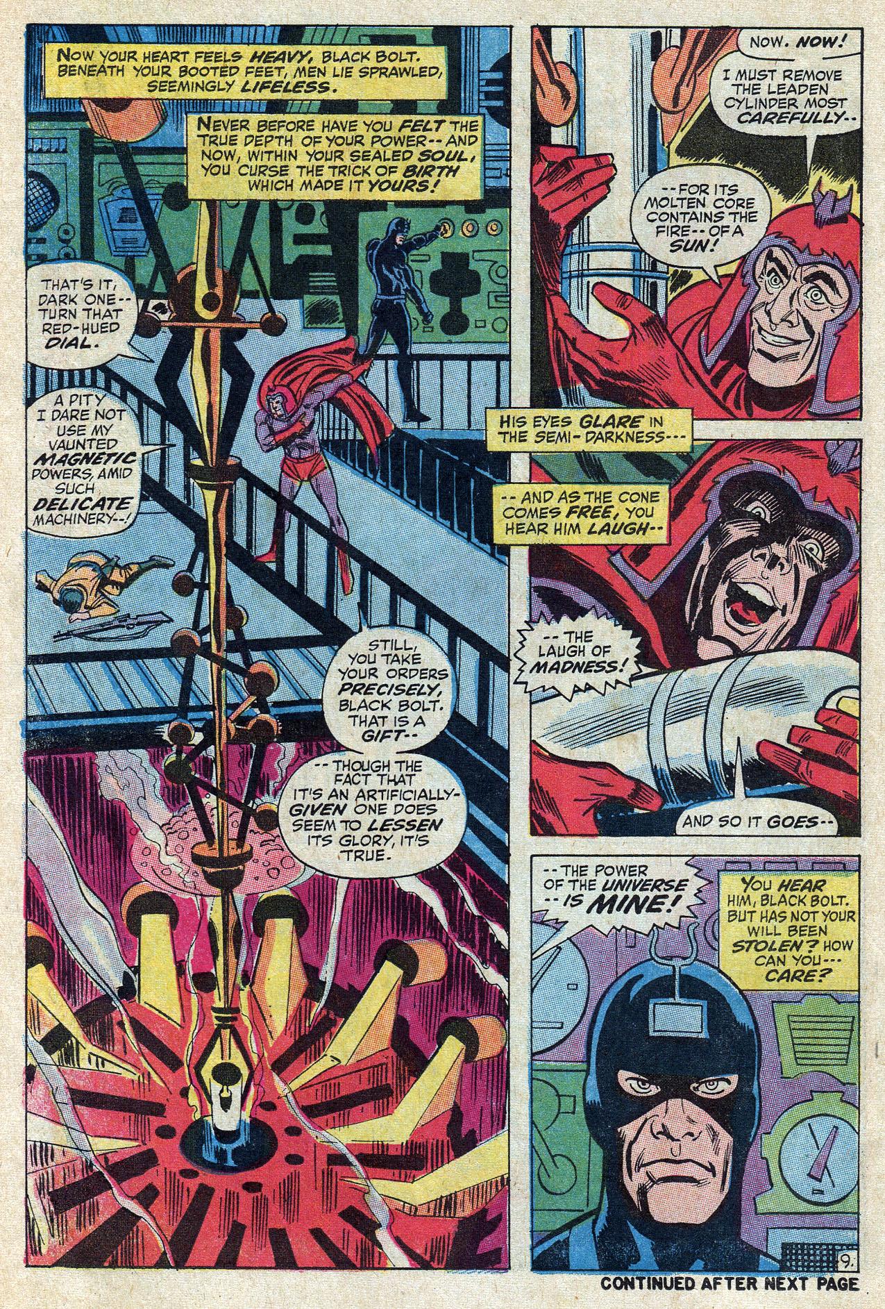 Read online Amazing Adventures (1970) comic -  Issue #10 - 14
