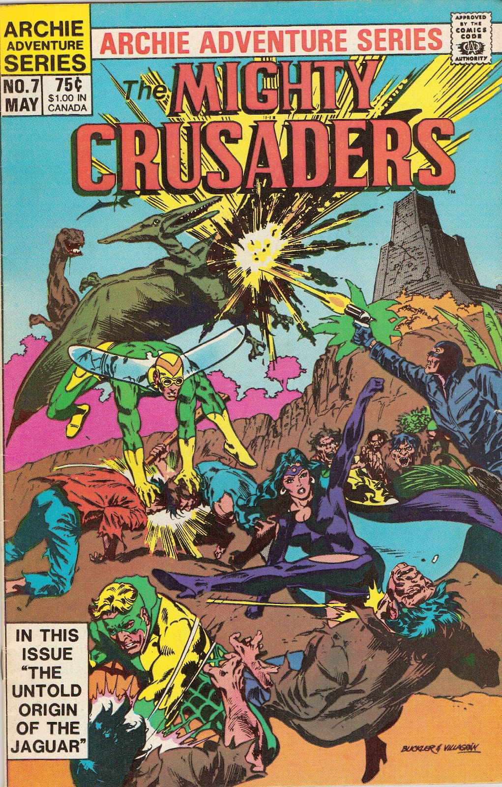 The All New Adventures of the Mighty Crusaders 7 Page 1