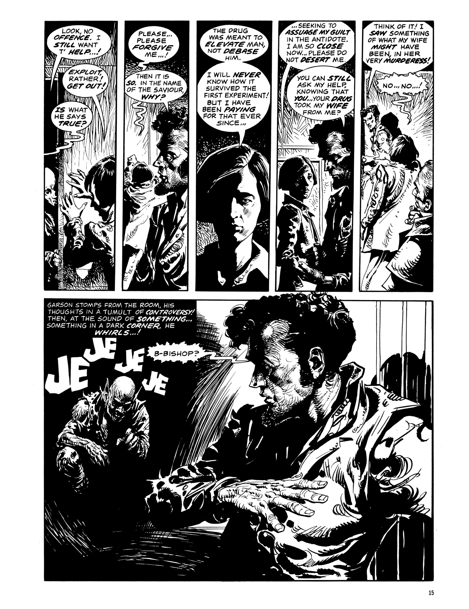 Read online Eerie Archives comic -  Issue # TPB 14 - 16