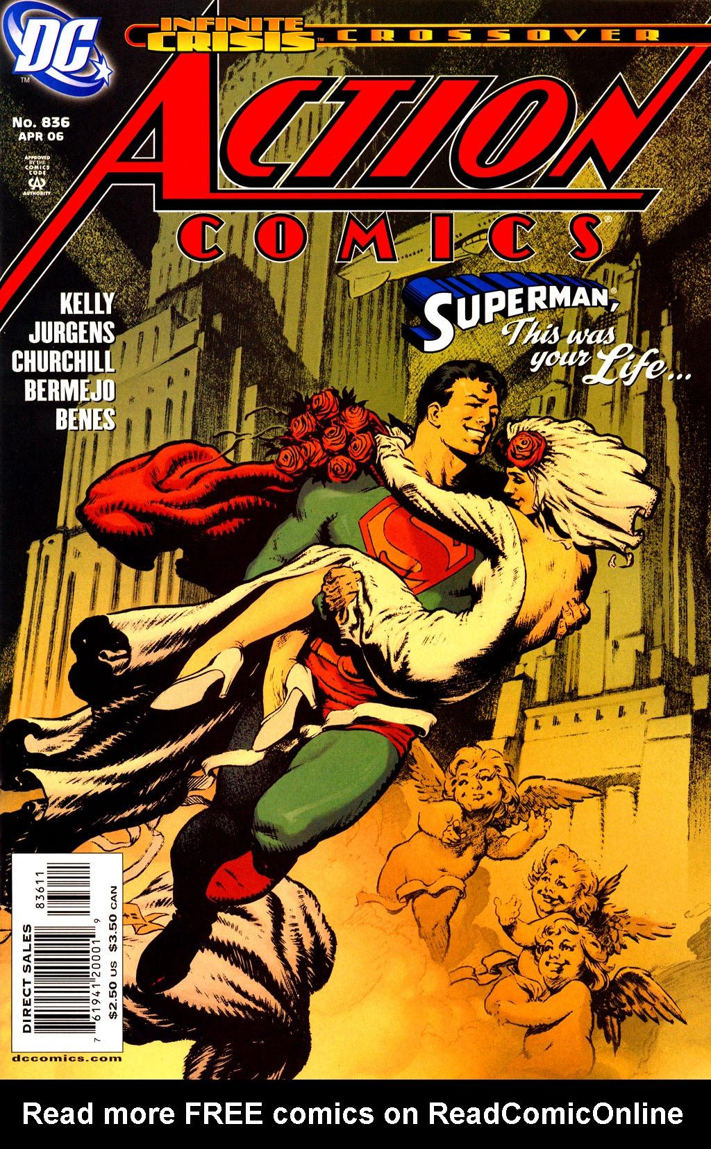 Action Comics (1938) 836 Page 1