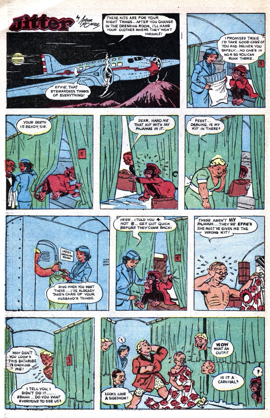 Read online Famous Funnies comic -  Issue #128 - 40