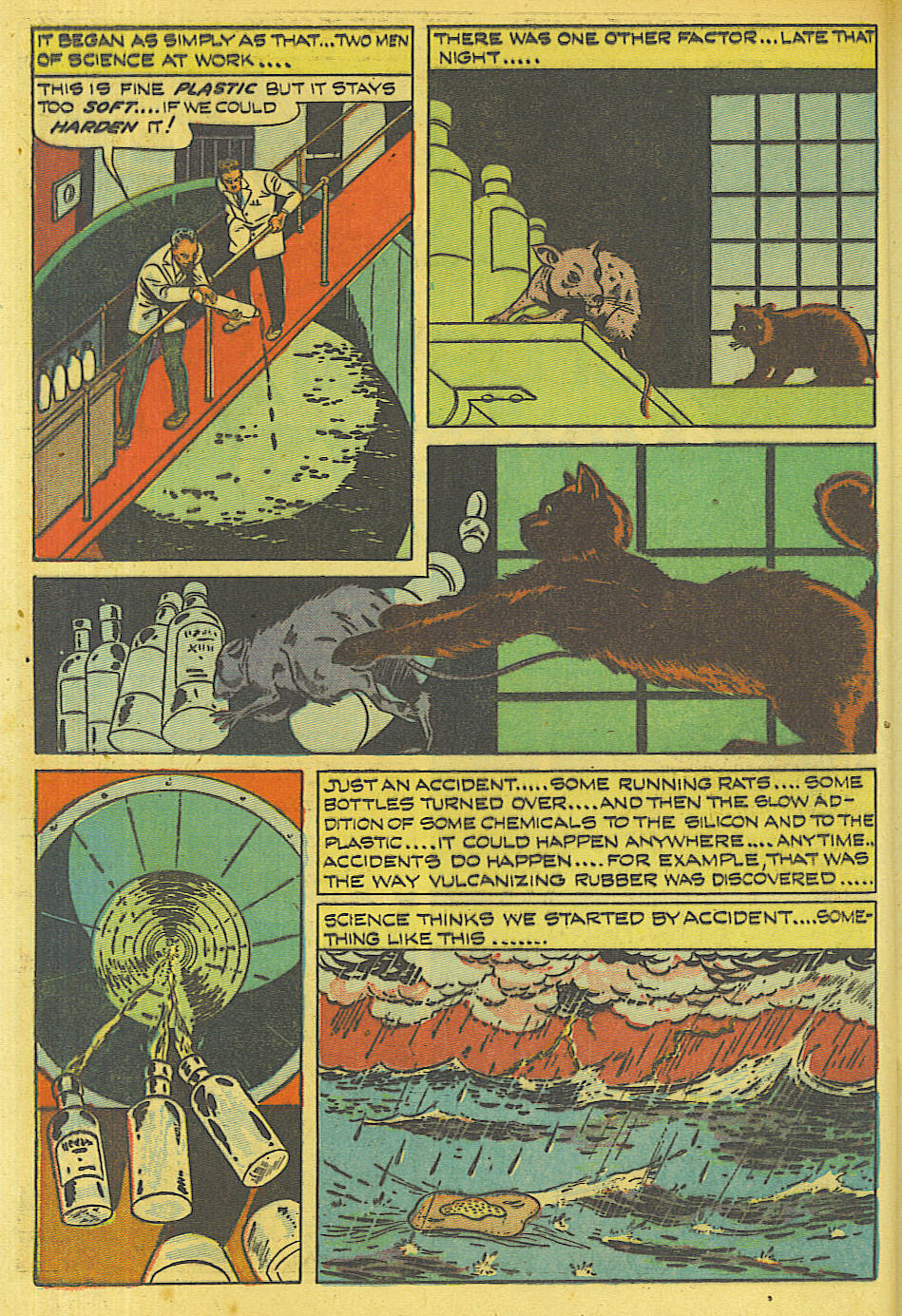Read online Shadow Comics comic -  Issue #87 - 17