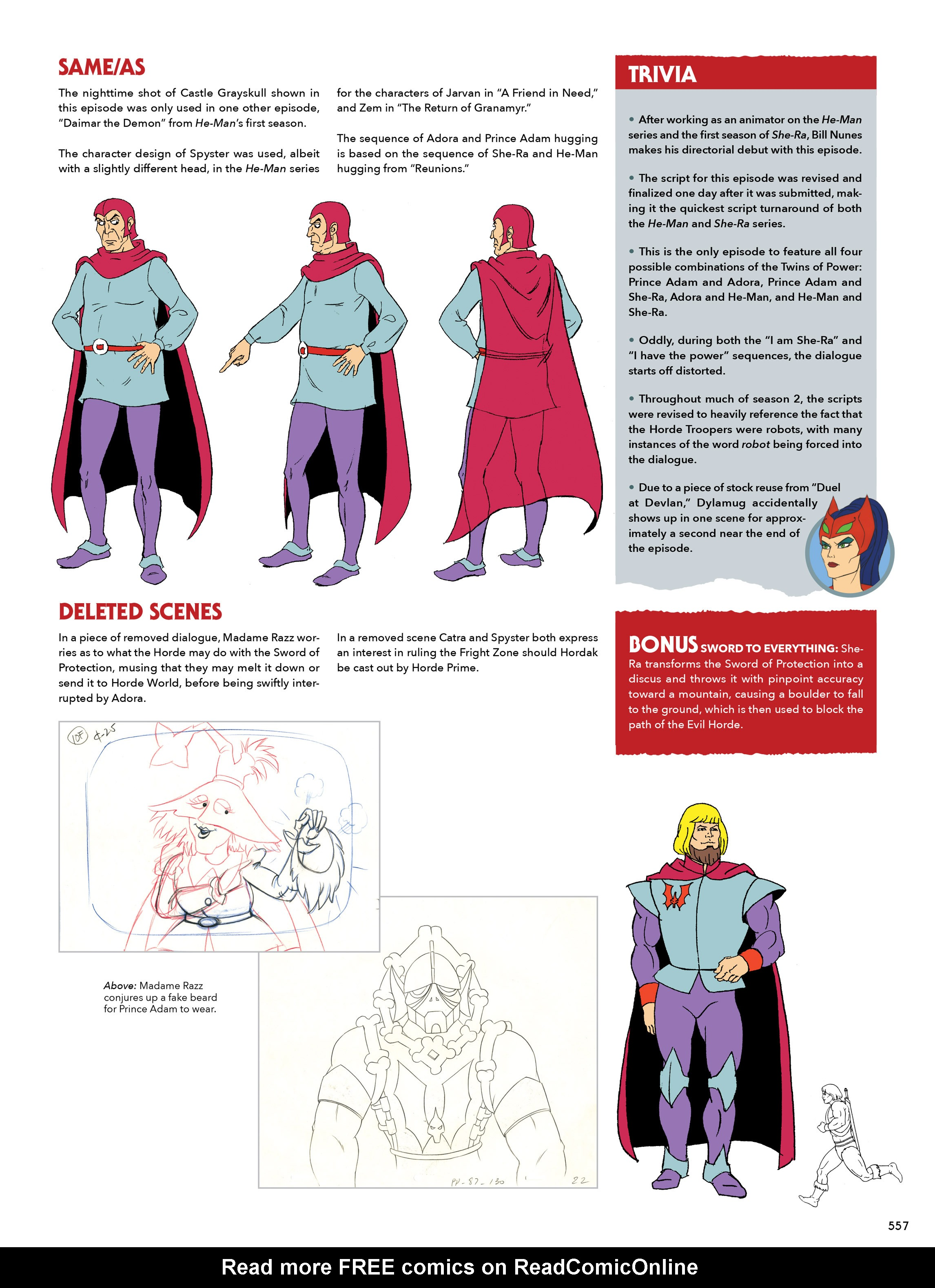 Read online He-Man and She-Ra: A Complete Guide to the Classic Animated Adventures comic -  Issue # TPB (Part 3) - 157