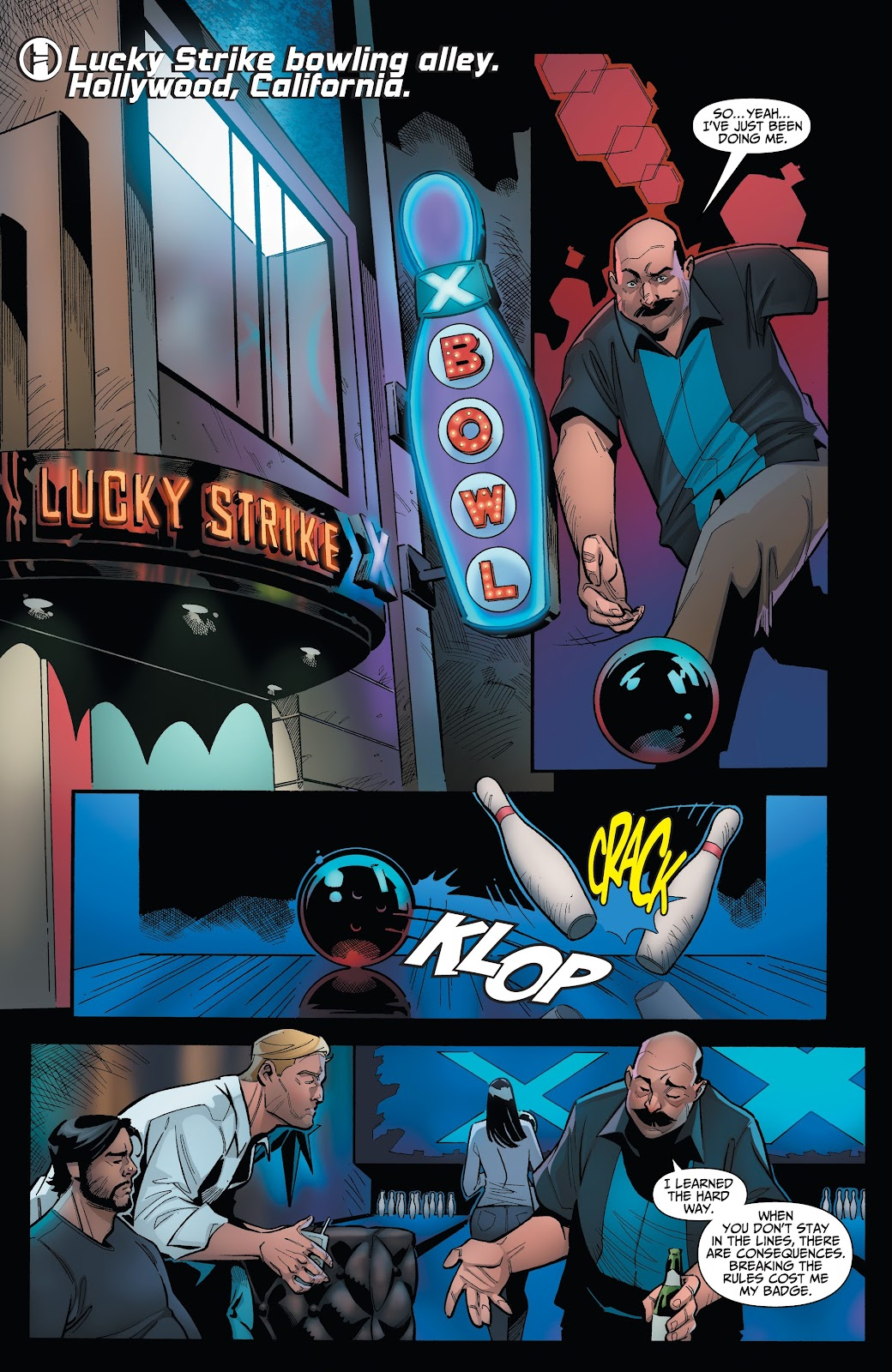 Read online Incidentals comic -  Issue #15 - 6