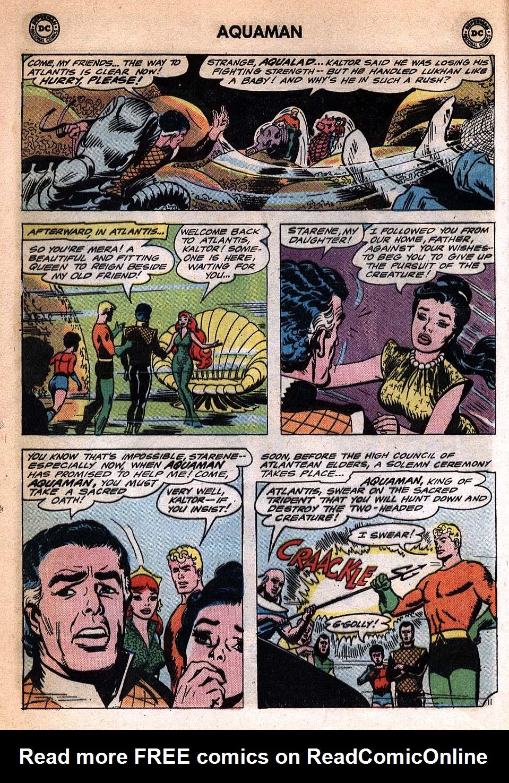 Read online Aquaman (1962) comic -  Issue #20 - 16