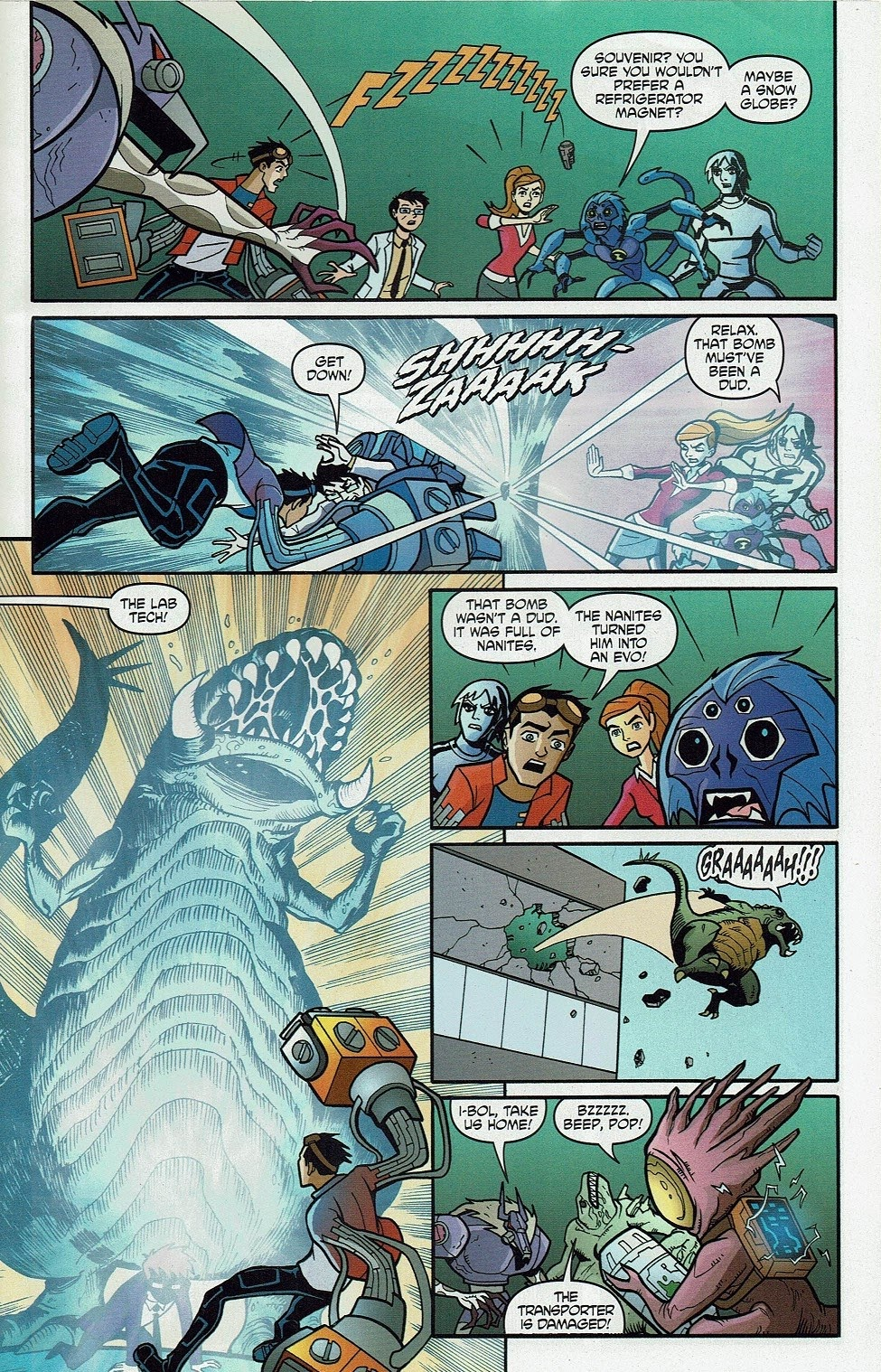 Read online Cartoon Network Action Pack comic -  Issue #65 - 23