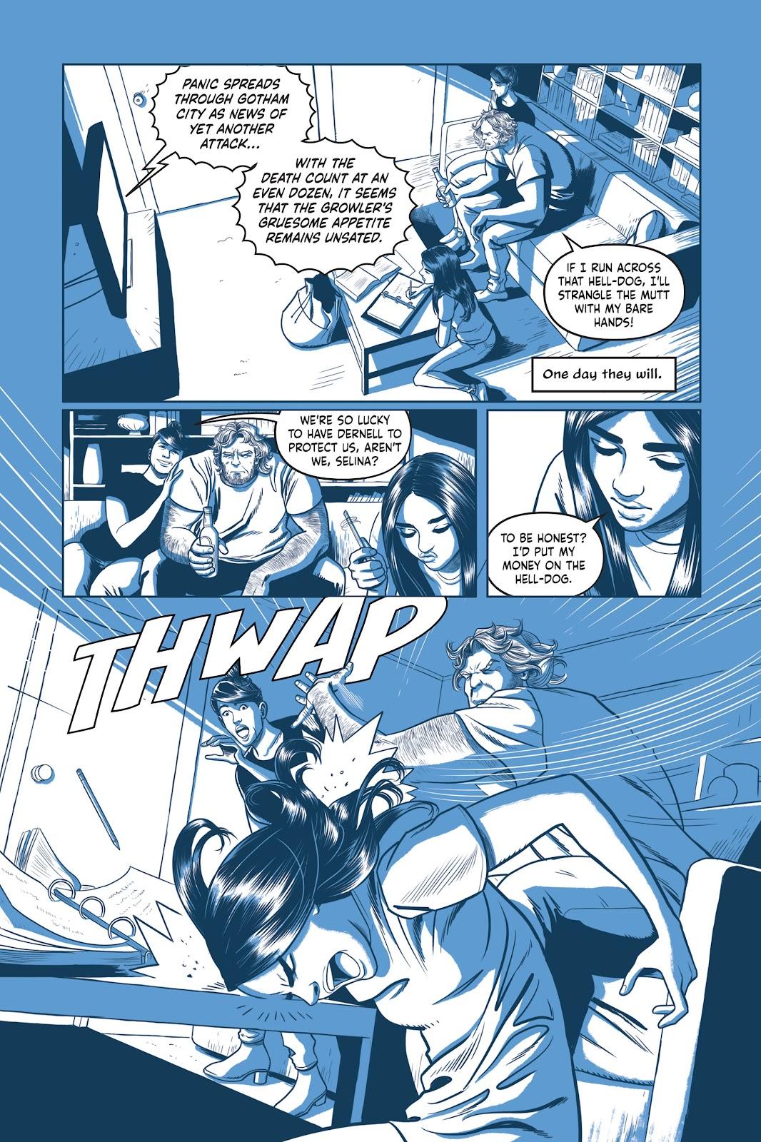 Read online Under the Moon: A Catwoman Tale comic -  Issue # TPB (Part 1) - 42