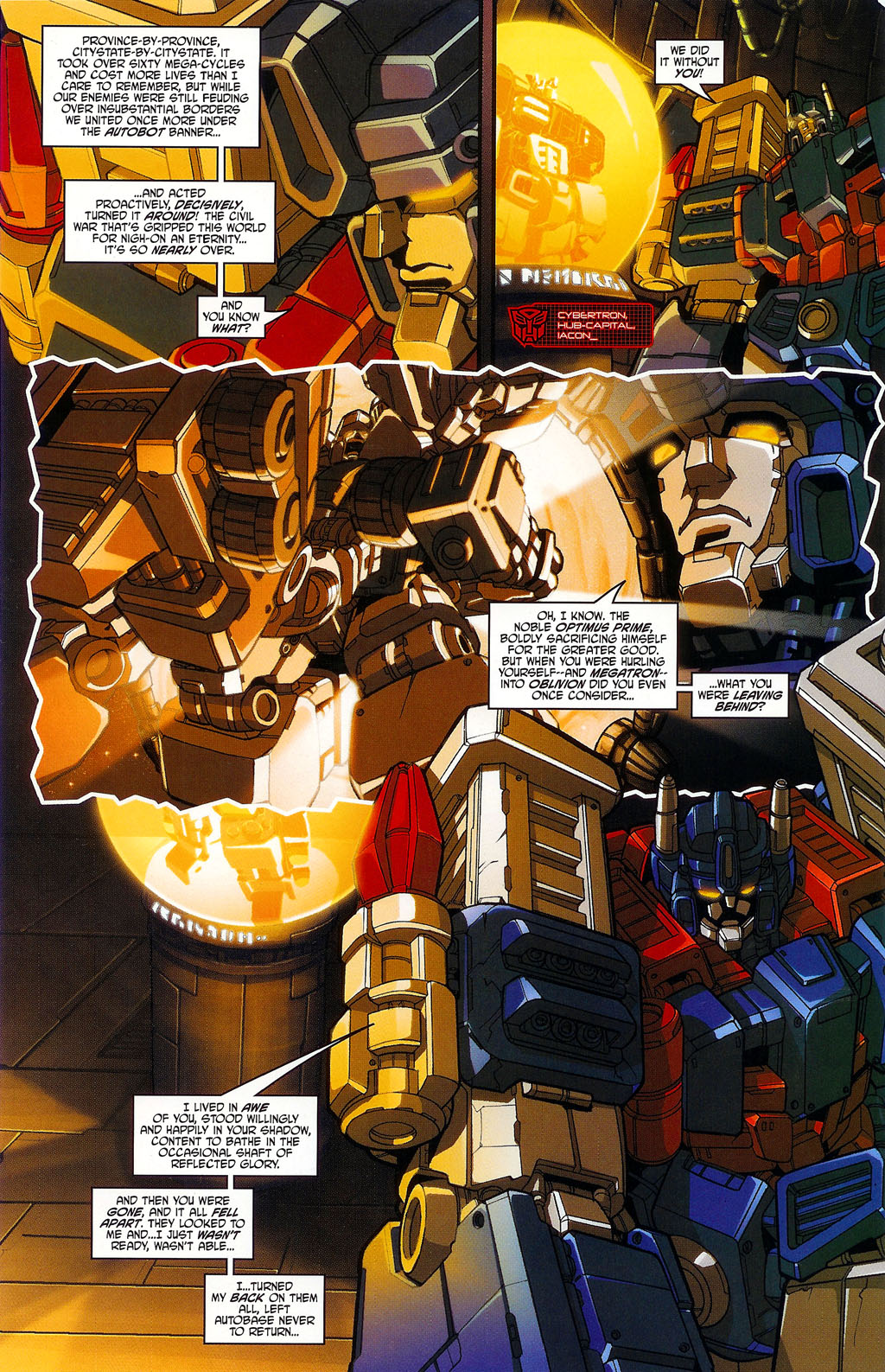 """Read online Transformers War Within: """"The Age of Wrath"""" comic -  Issue #1 - 6"""