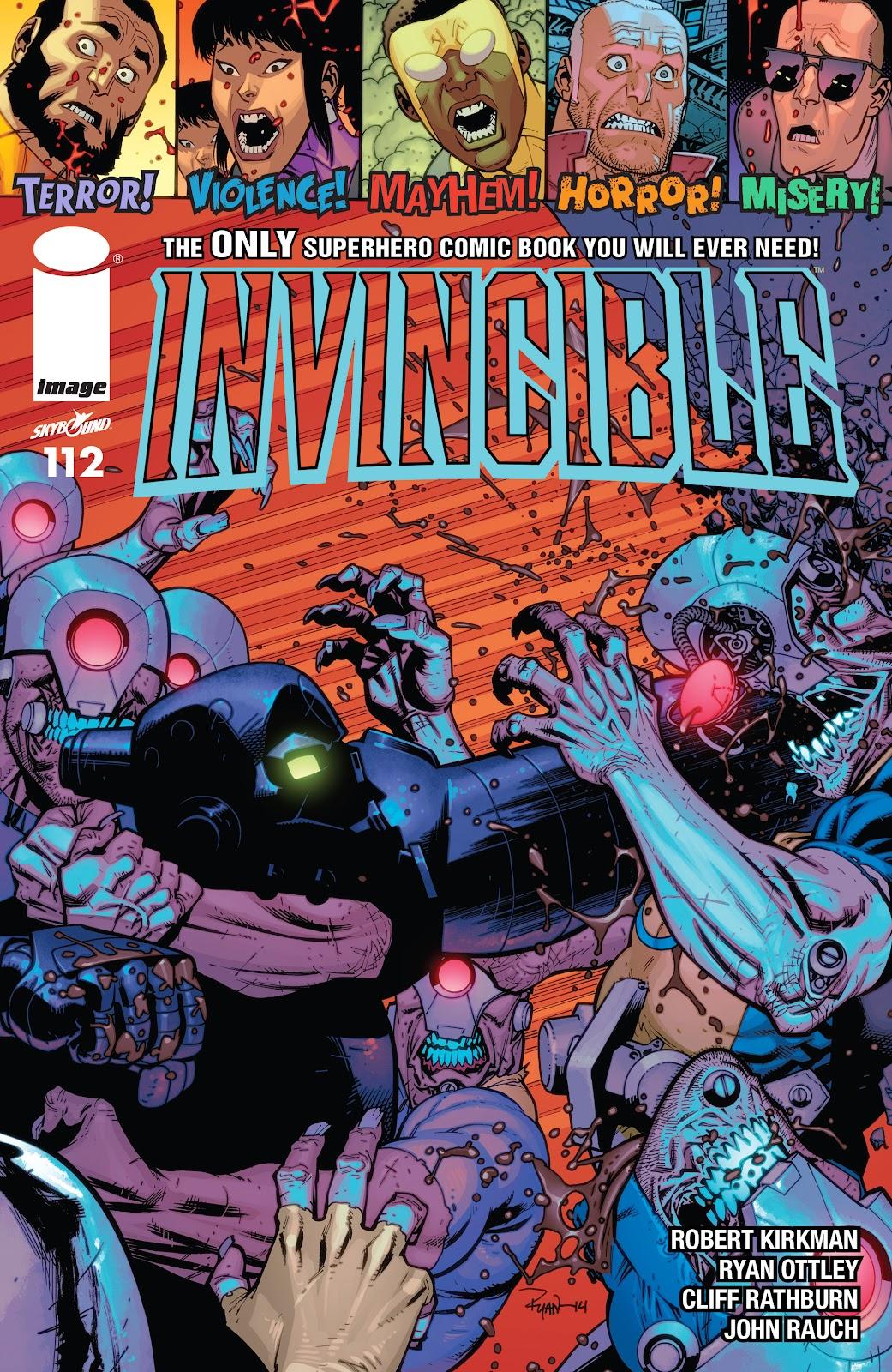 Invincible (2003) 112 Page 1