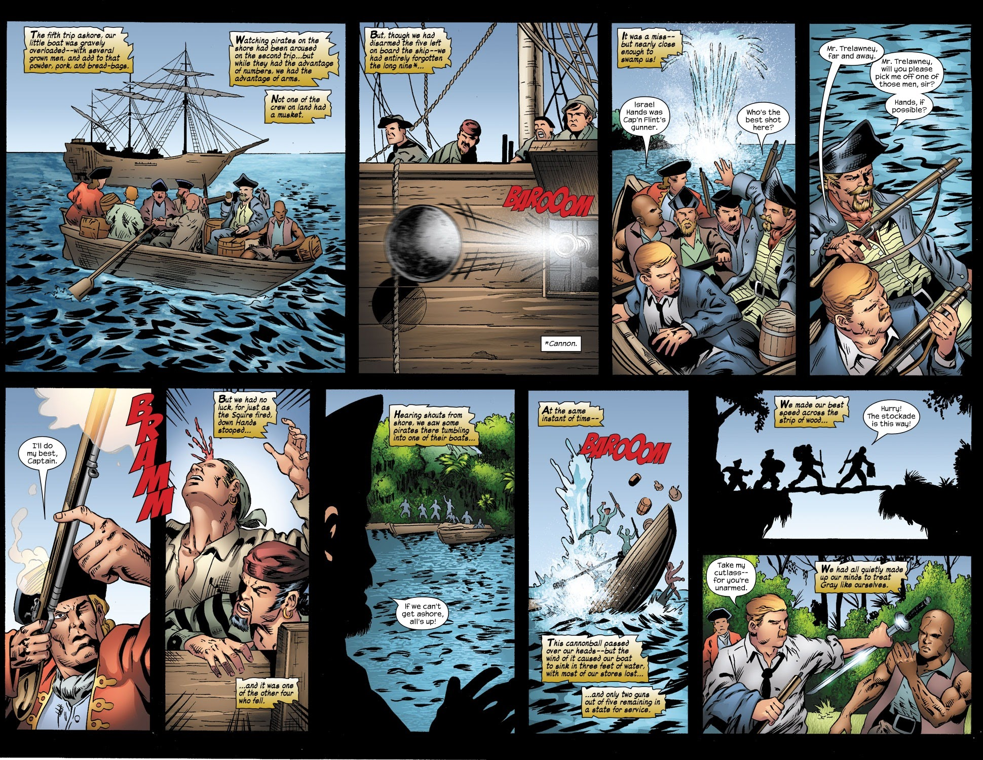 Read online Treasure Island comic -  Issue #3 - 18