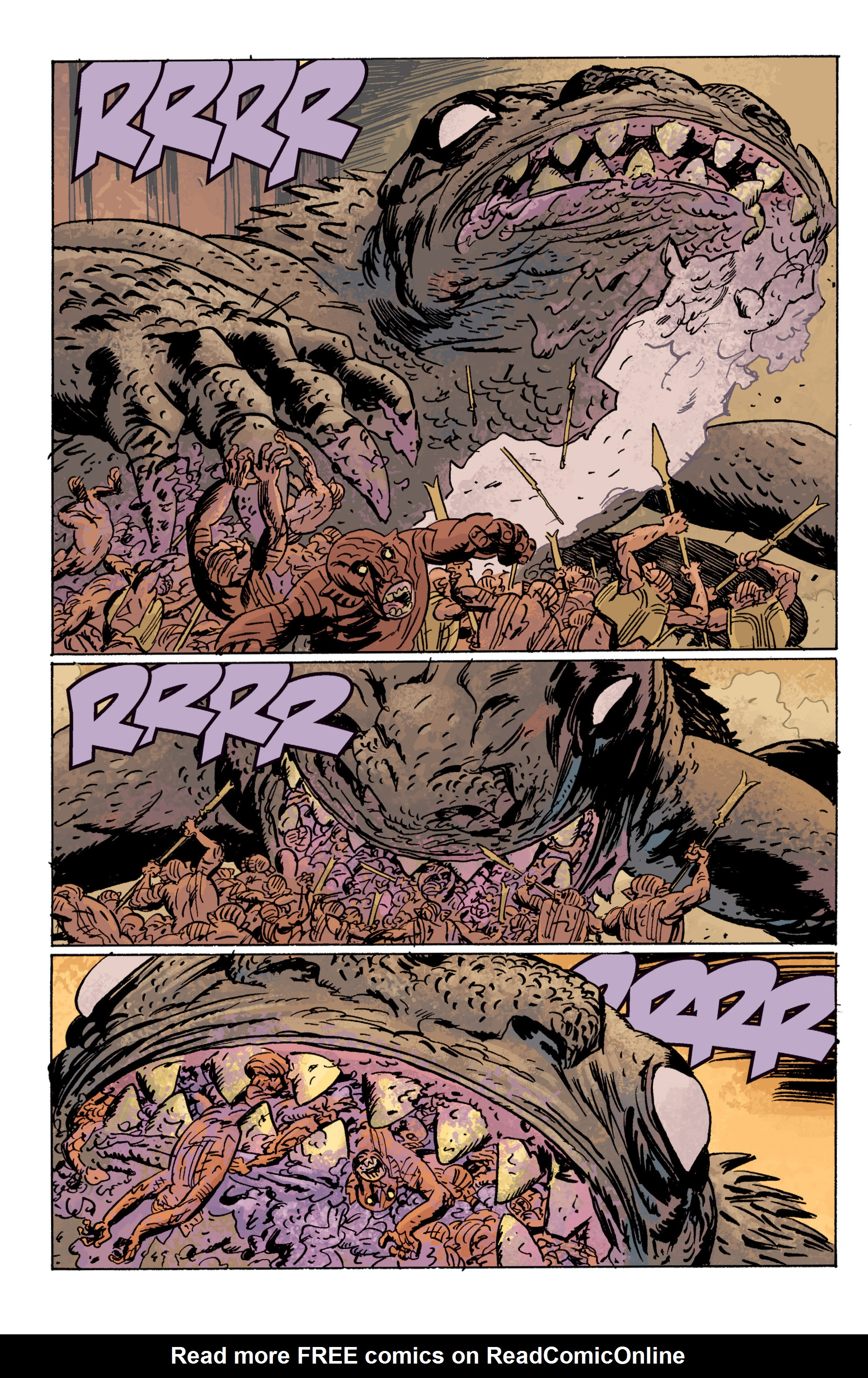 Read online B.P.R.D. (2003) comic -  Issue # TPB 10 - 111