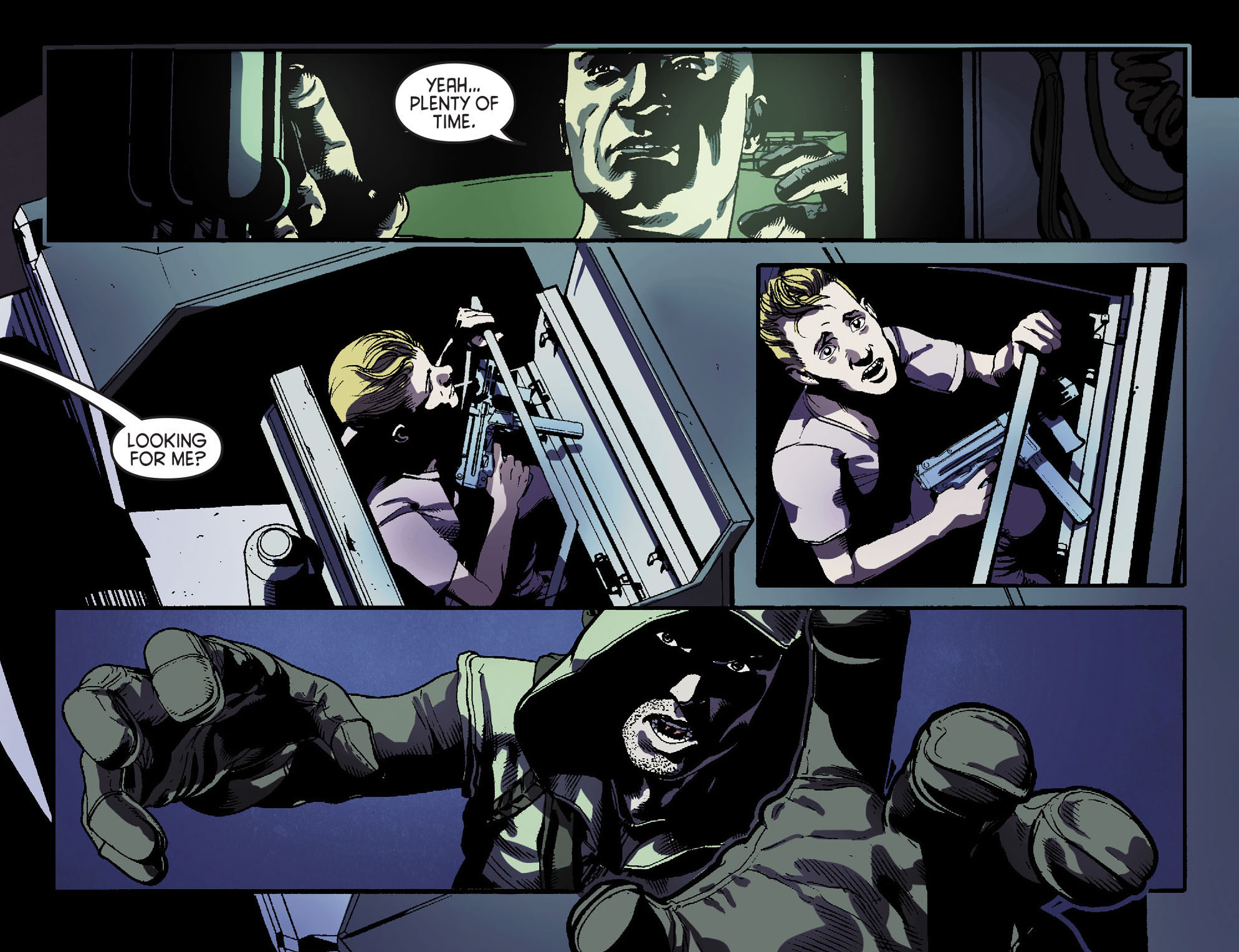 Read online Arrow [II] comic -  Issue #15 - 8