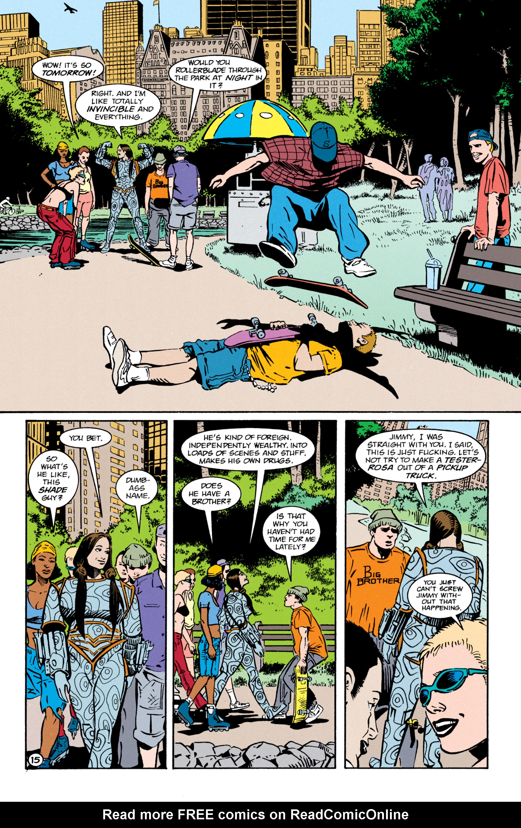 Read online Shade, the Changing Man comic -  Issue #64 - 16