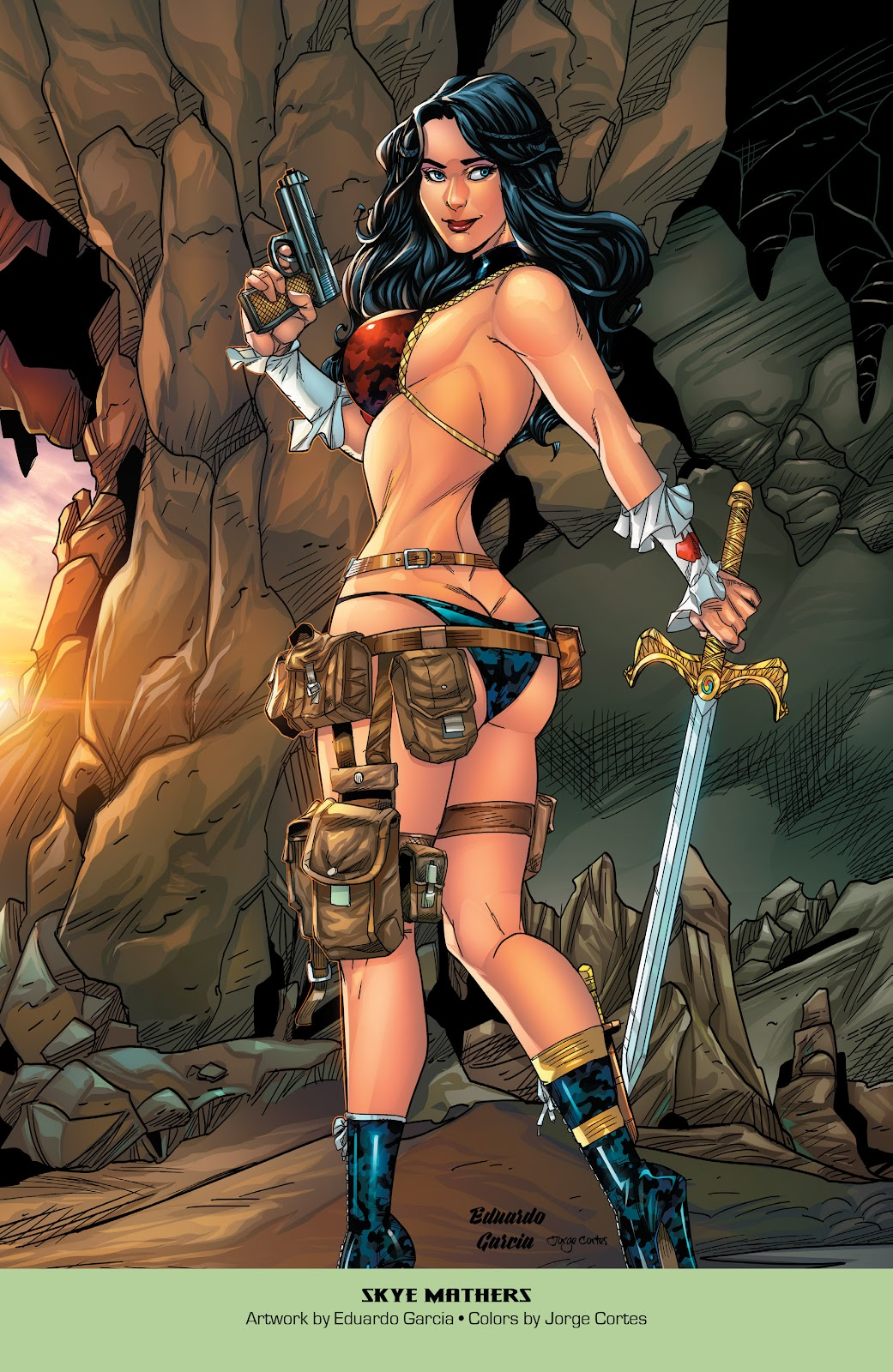 Read online Grimm Fairy Tales: 2019 Armed Forces Edition comic -  Issue # Full - 24