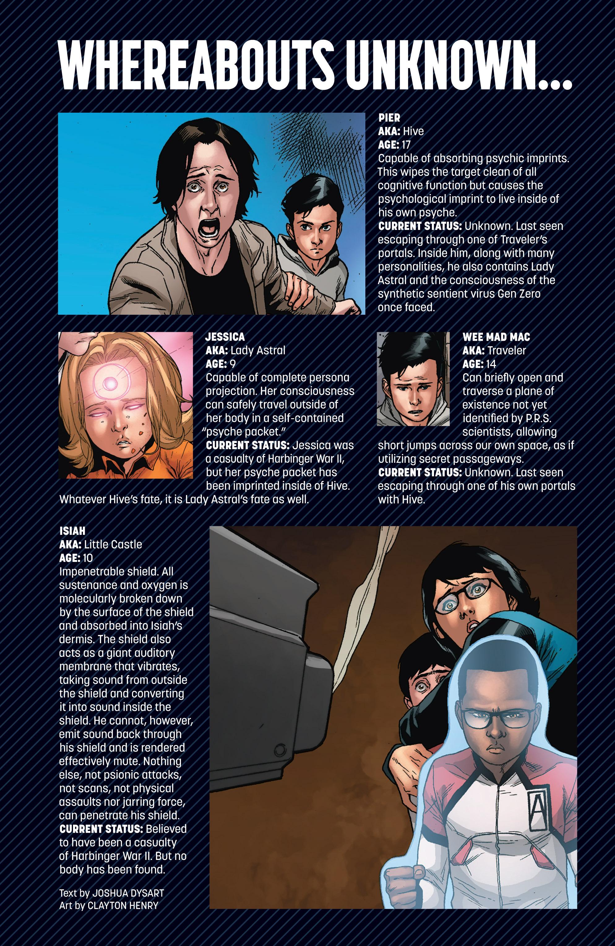 Read online Armor Hunters: Harbinger comic -  Issue # TPB - 113