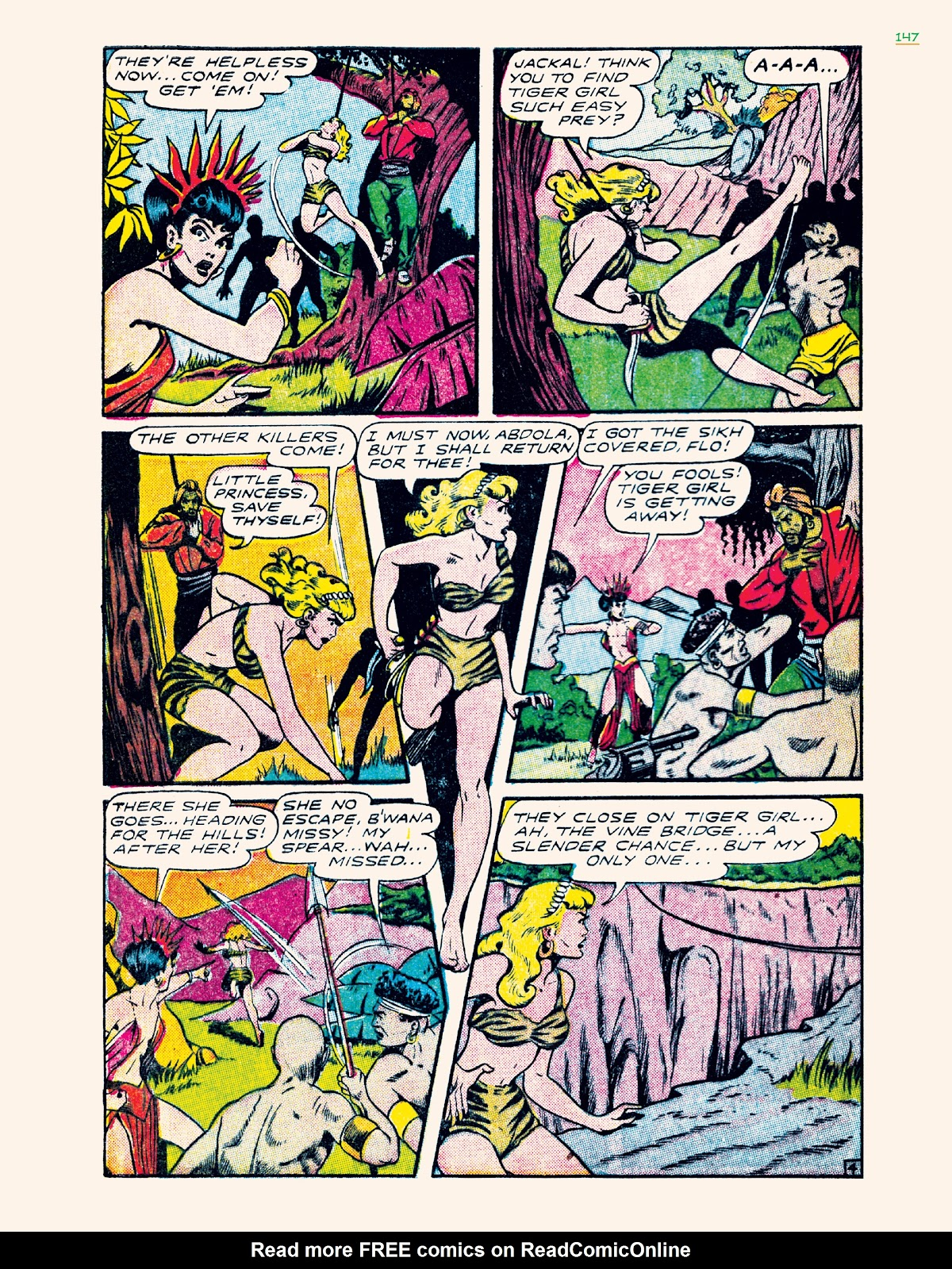 Read online Jungle Girls comic -  Issue # TPB (Part 2) - 47