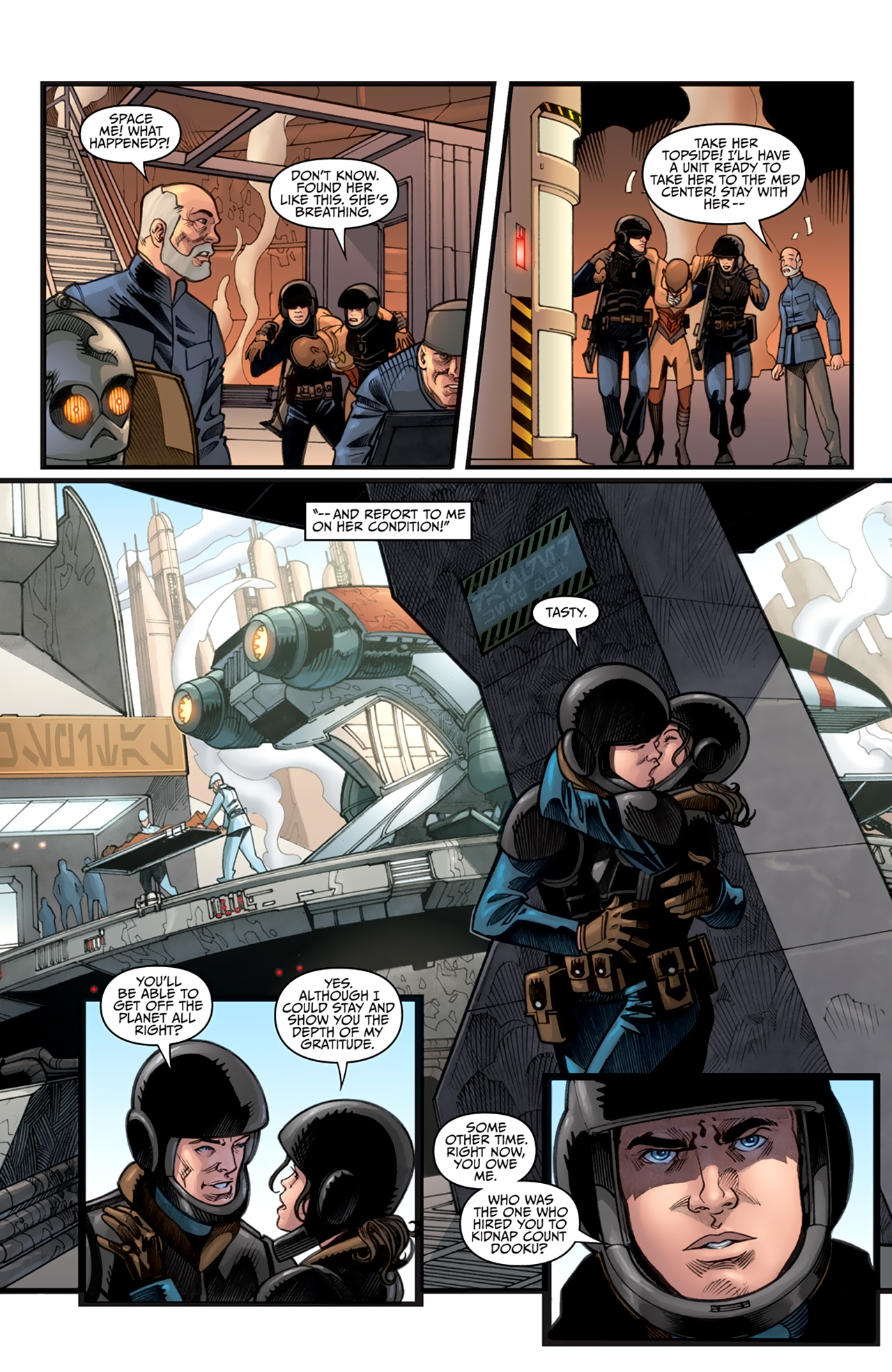 Read online Star Wars: Agent Of The Empire - Hard Targets comic -  Issue #3 - 22