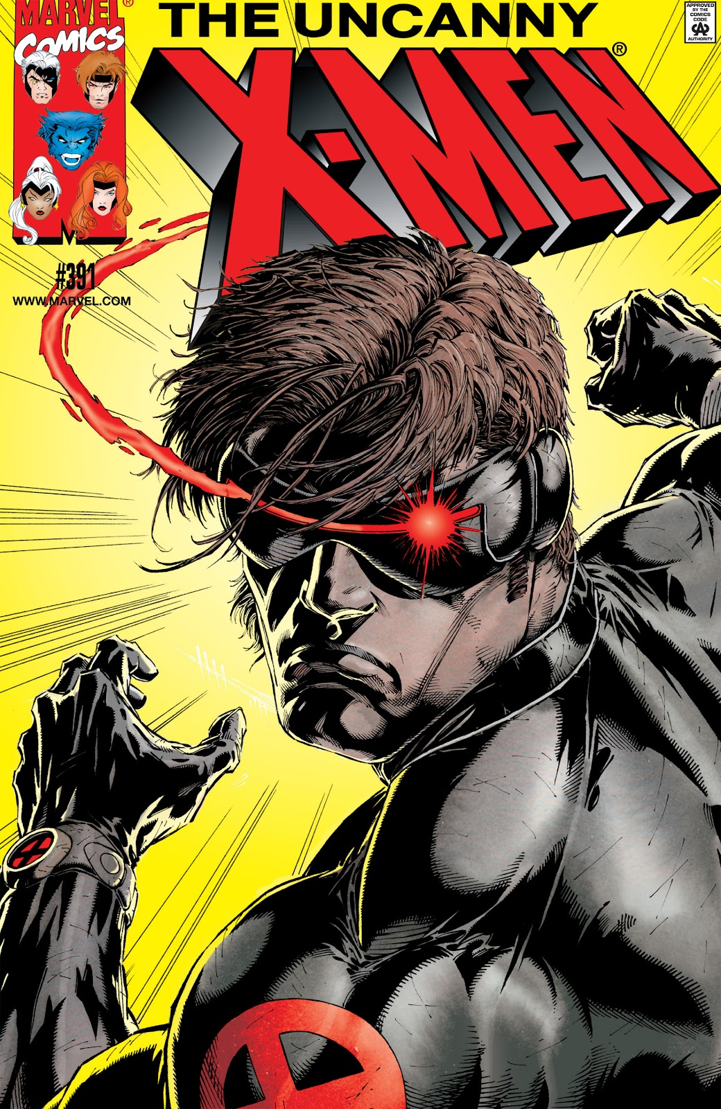 Uncanny X-Men (1963) issue 391 - Page 1
