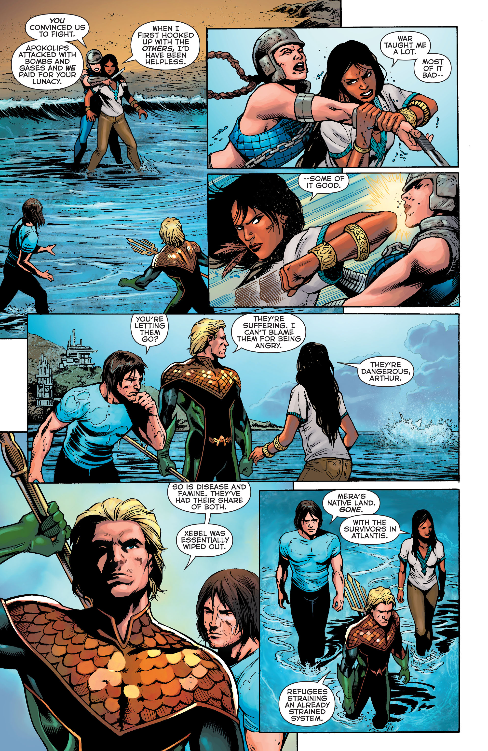 Read online Aquaman: Futures End comic -  Issue #Aquaman: Futures End Full - 7