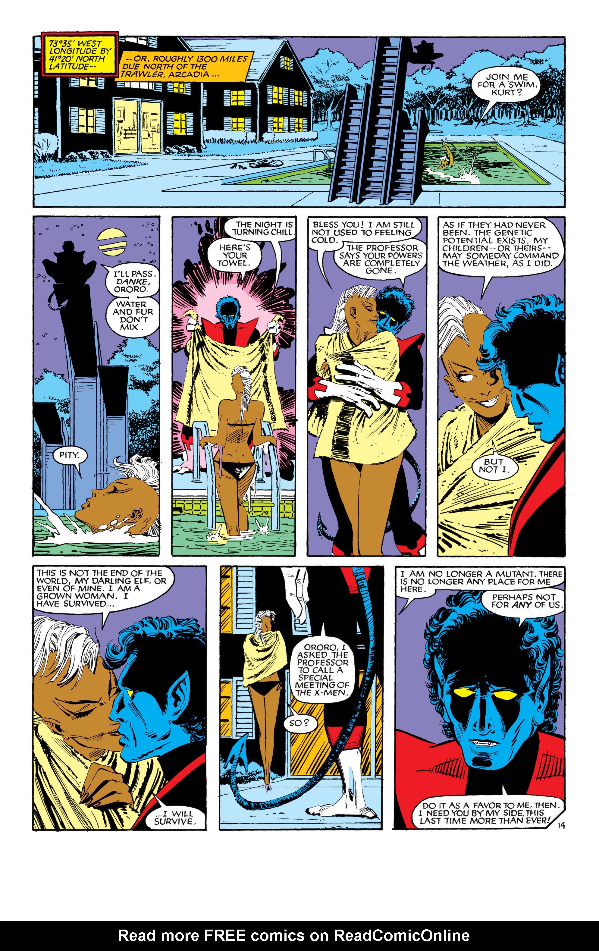 Read online Uncanny X-Men (1963) comic -  Issue #188 - 15