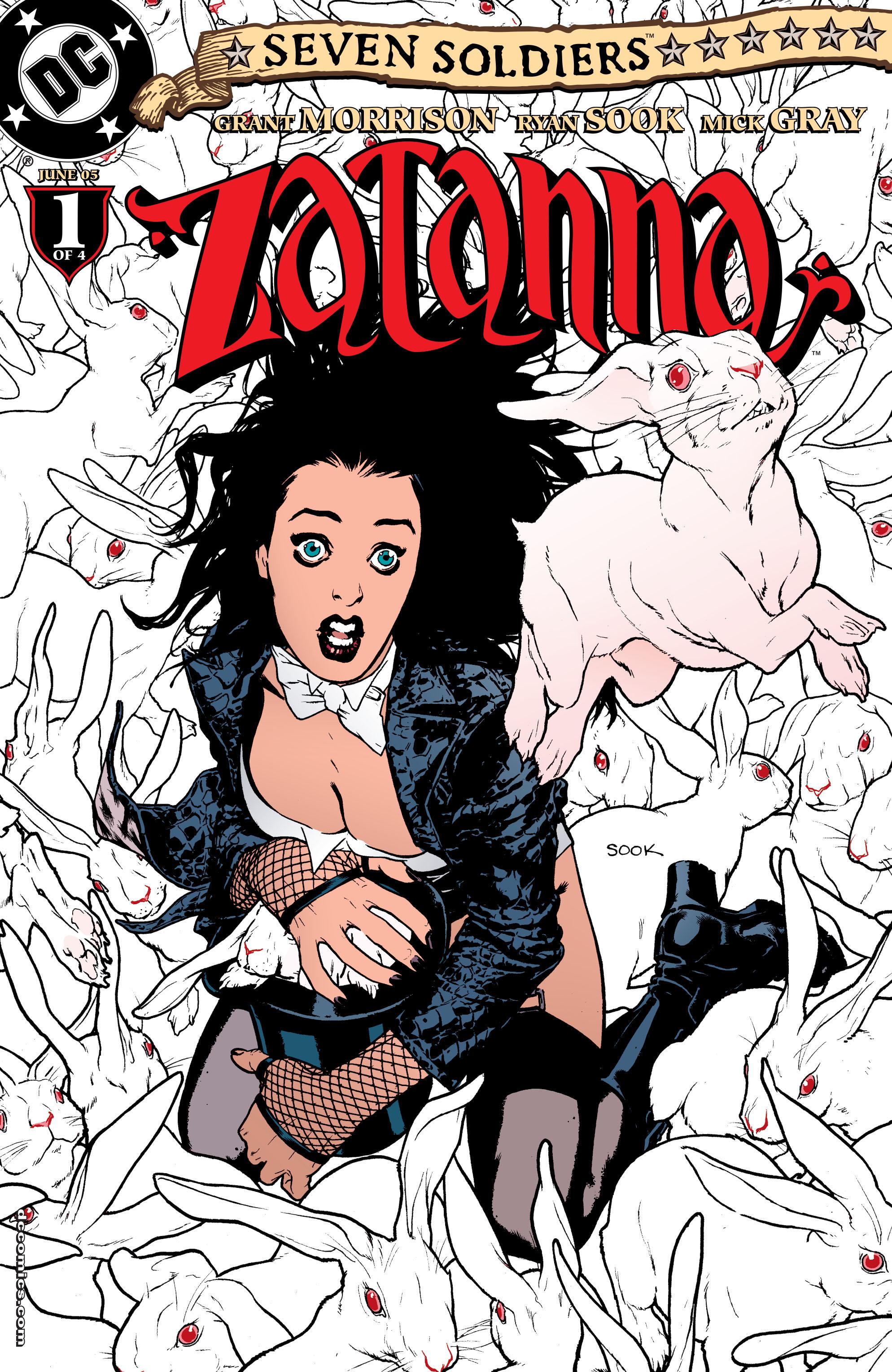 Read online Seven Soldiers: Zatanna comic -  Issue #1 - 1