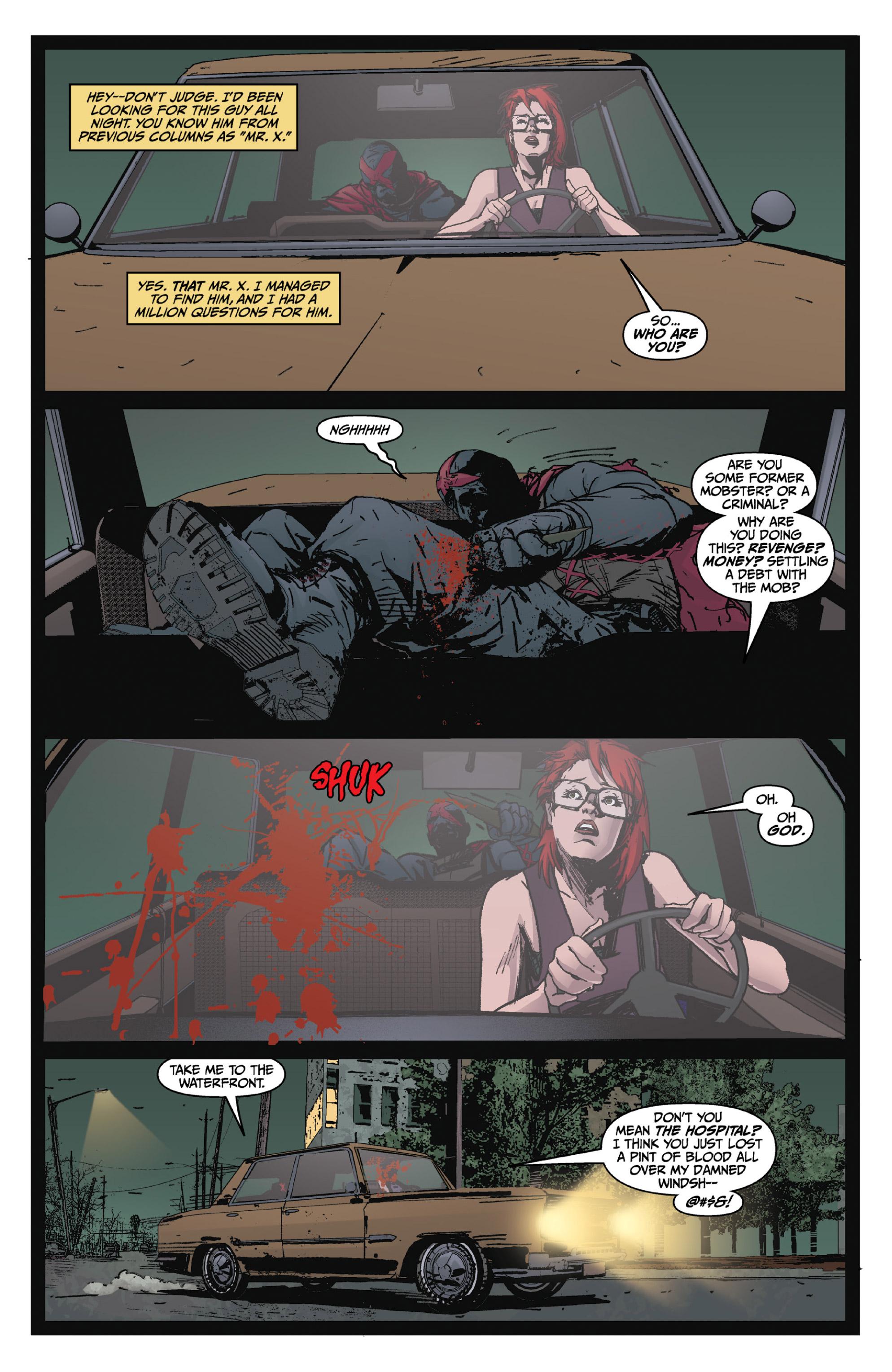 Read online X: Big Bad comic -  Issue # Full - 58