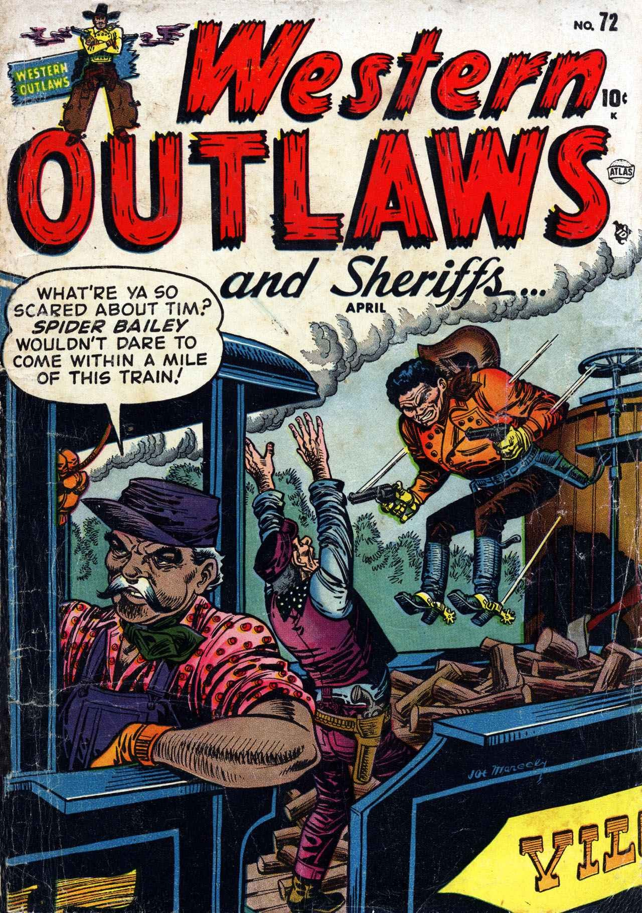 Western Outlaws and Sheriffs 72 Page 1