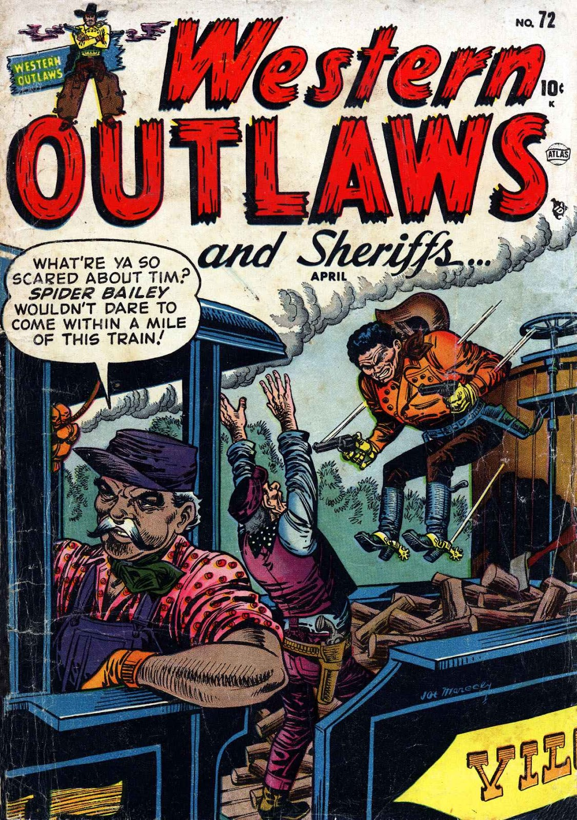 Western Outlaws and Sheriffs issue 72 - Page 1