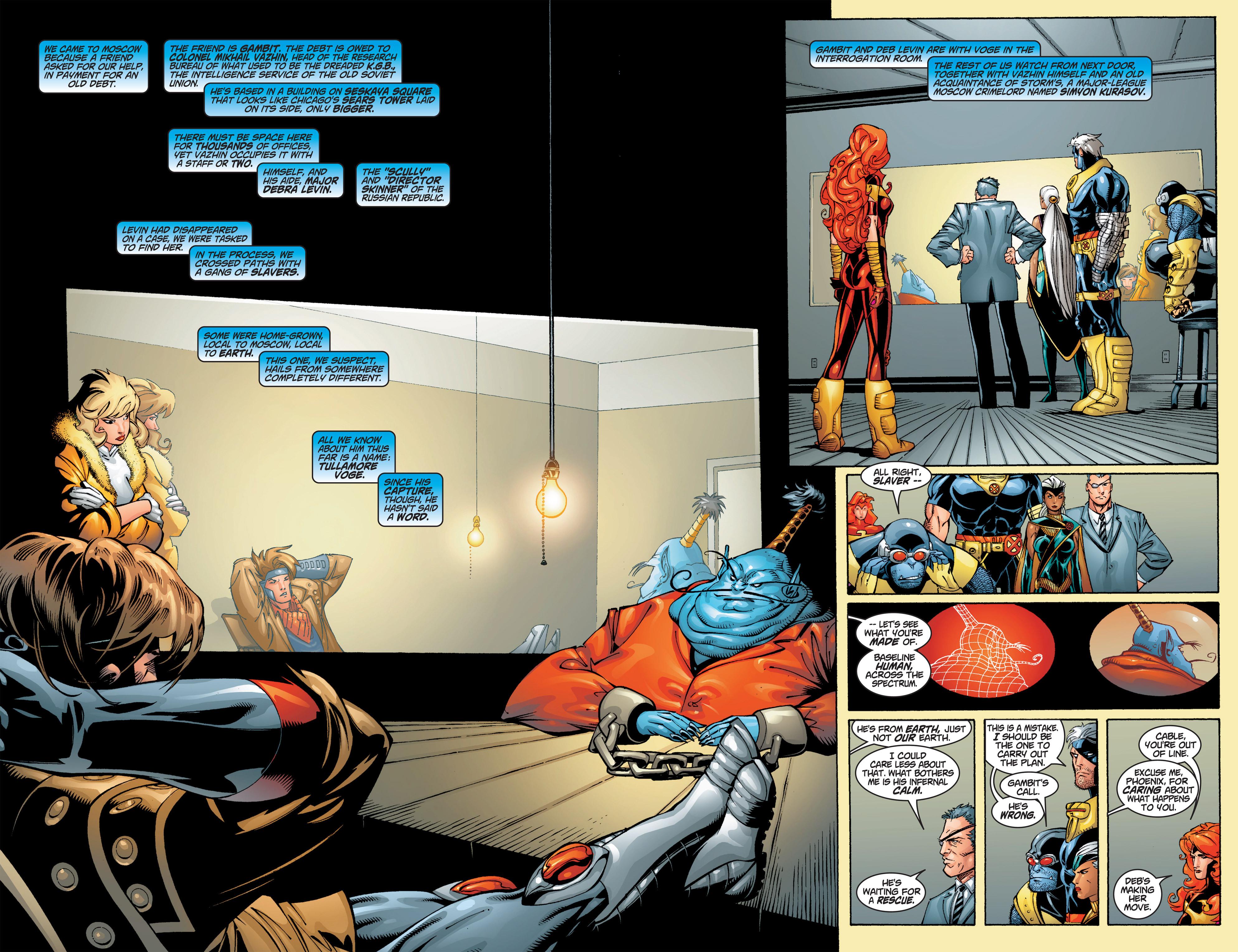 Read online Uncanny X-Men (1963) comic -  Issue #384 - 6