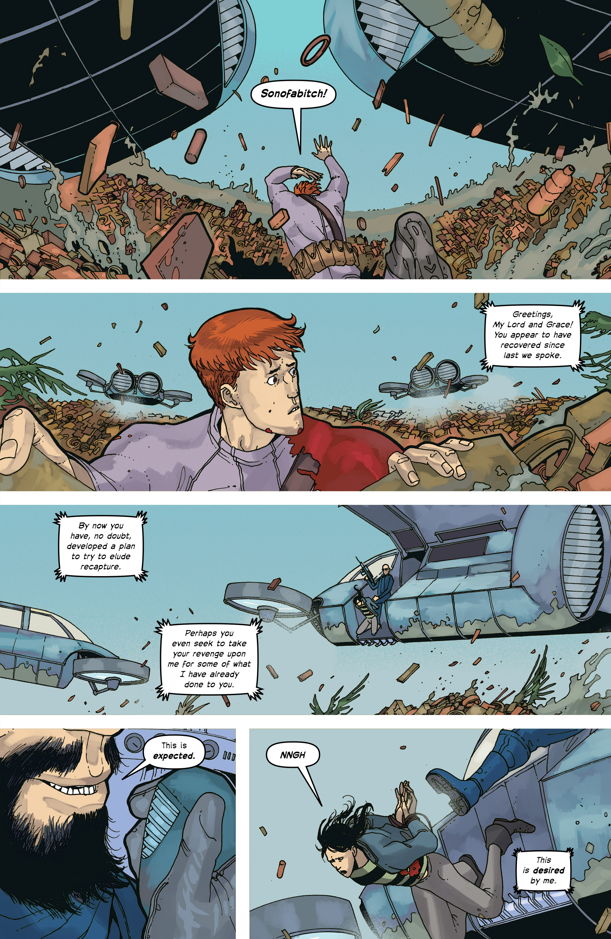 Read online Great Pacific comic -  Issue #17 - 19