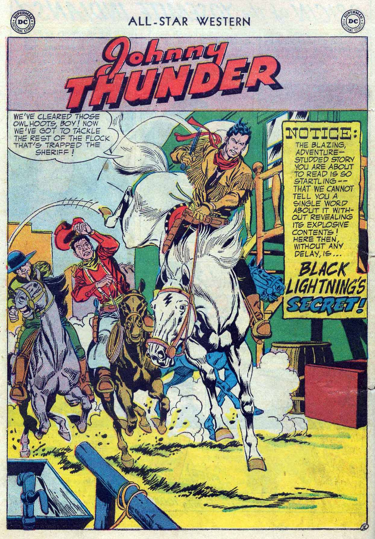 Read online All-Star Western (1951) comic -  Issue #85 - 28